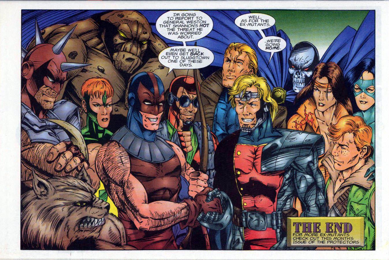 Read online Ex-Mutants comic -  Issue #18 - 24