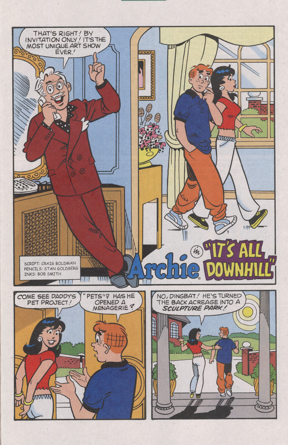 Read online Archie (1960) comic -  Issue #539 - 29