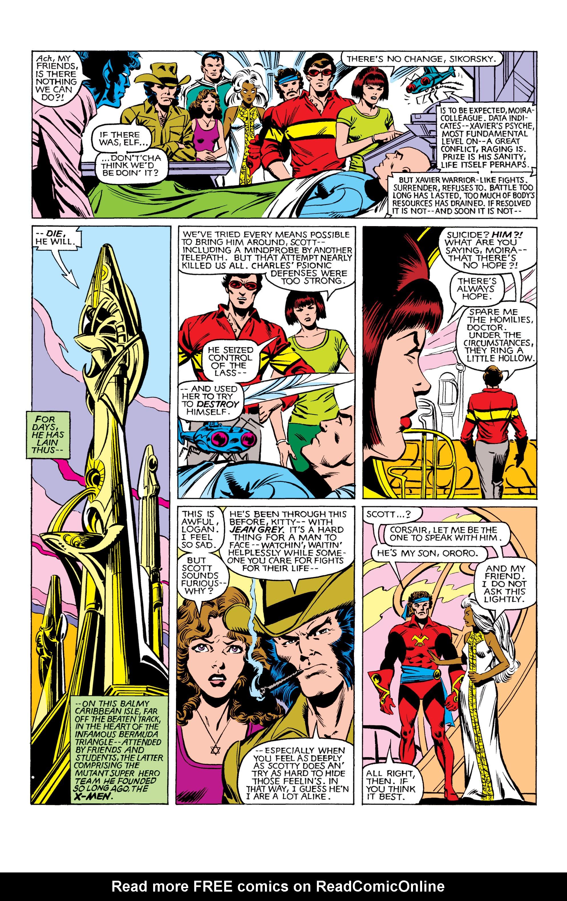 Read online Uncanny X-Men (1963) comic -  Issue #161 - 3