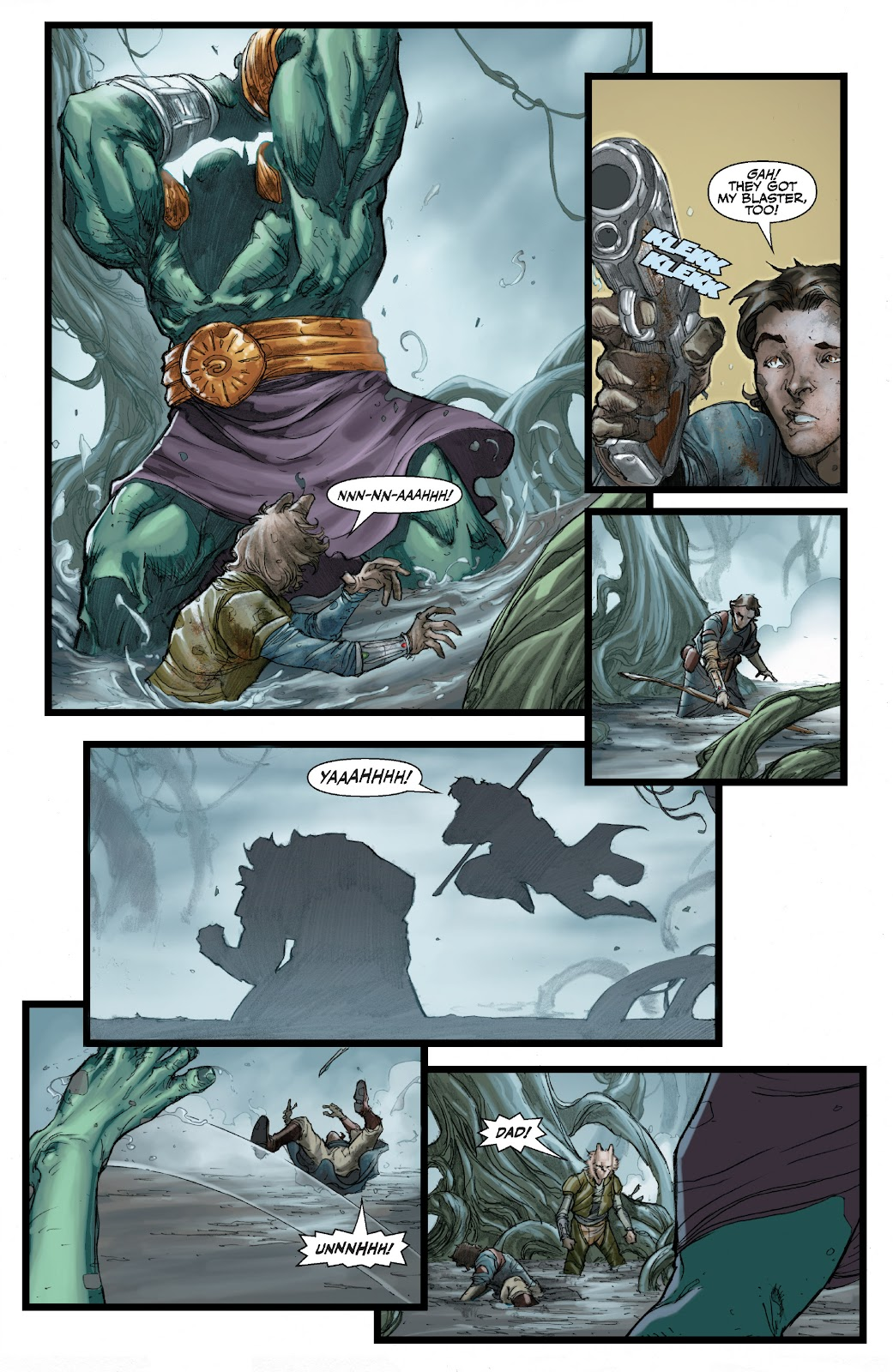 Read online Star Wars Legends: The Old Republic - Epic Collection comic -  Issue # TPB 3 (Part 1) - 85