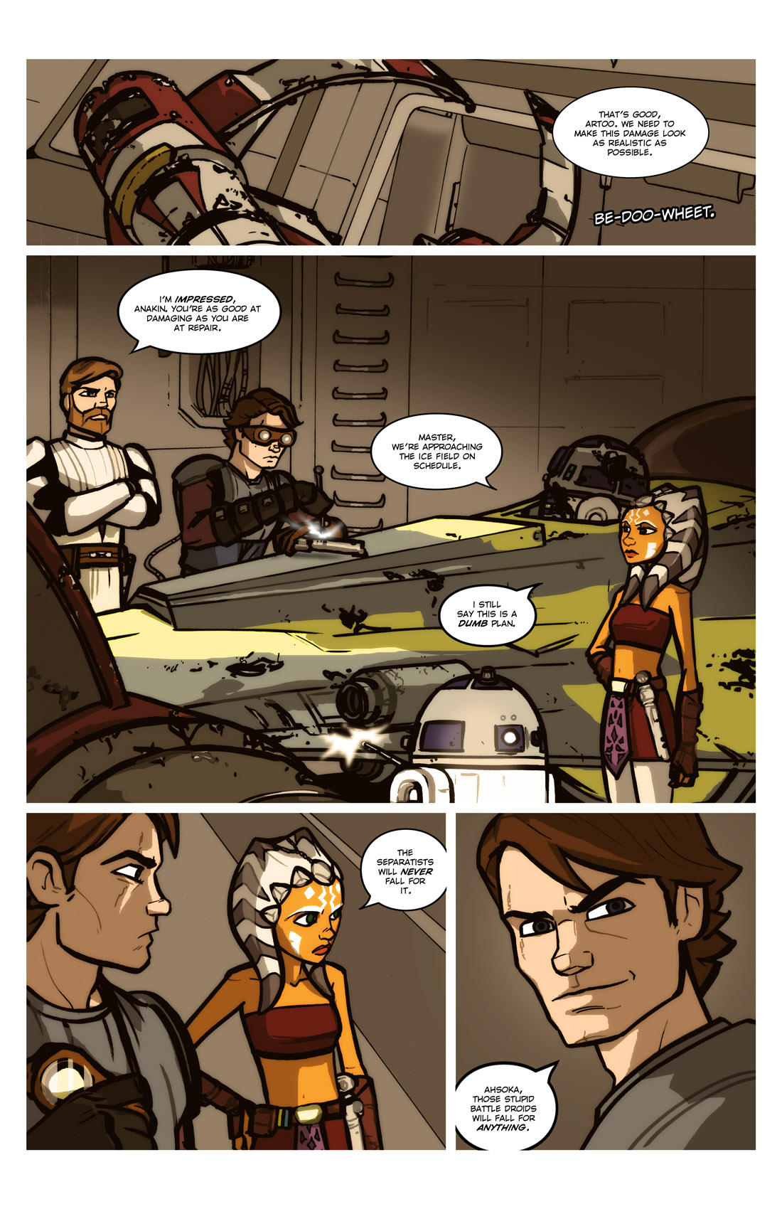 Read online Star Wars: Tales From The Clone Wars comic -  Issue # TPB - 76
