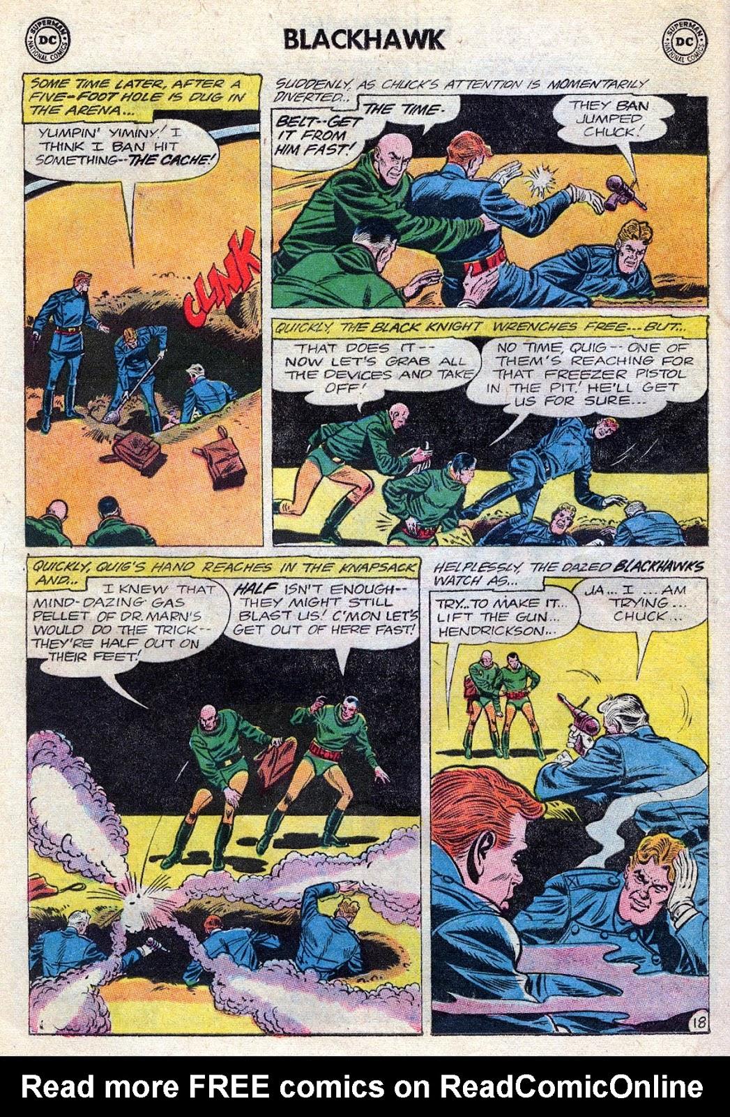 Blackhawk (1957) Issue #189 #82 - English 22