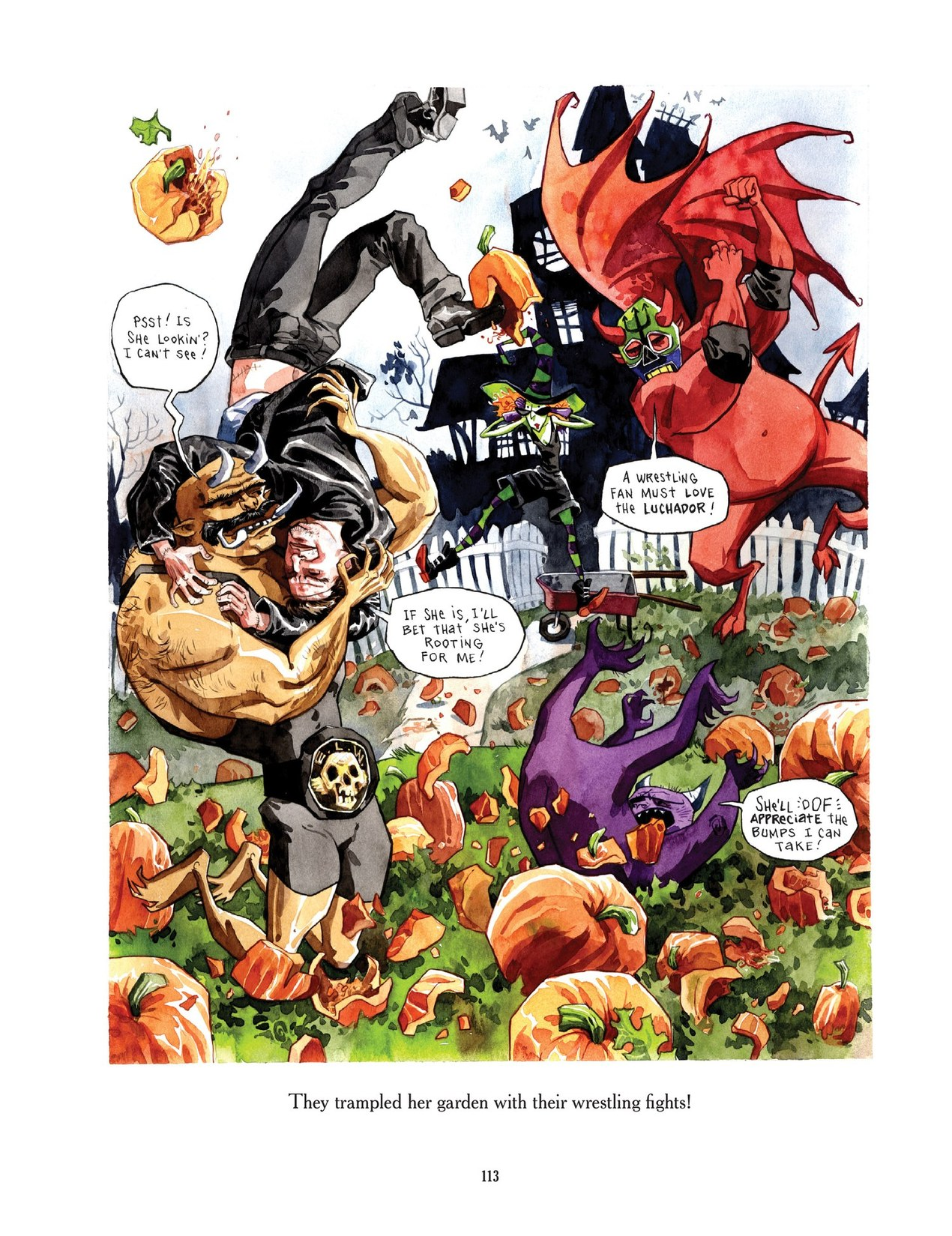 Read online Scary Godmother comic -  Issue # TPB - 113