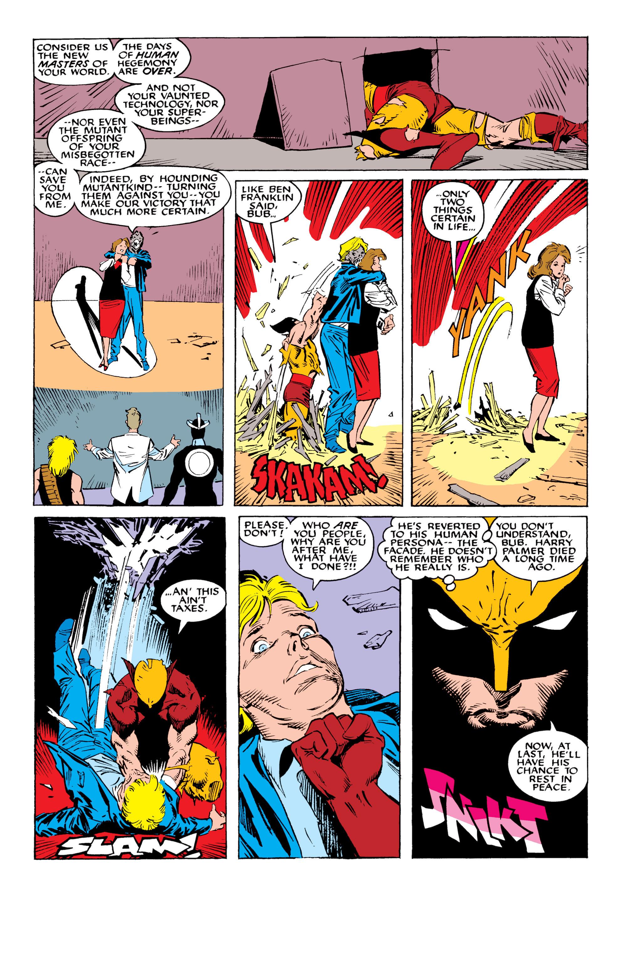 Read online Uncanny X-Men (1963) comic -  Issue #234 - 21