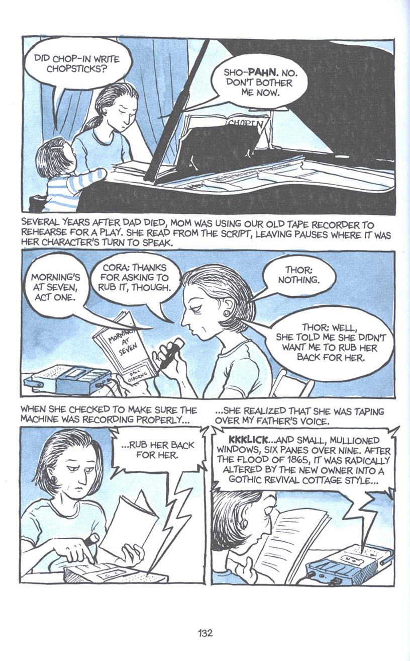 Read online Fun Home: A Family Tragicomic comic -  Issue # TPB - 138