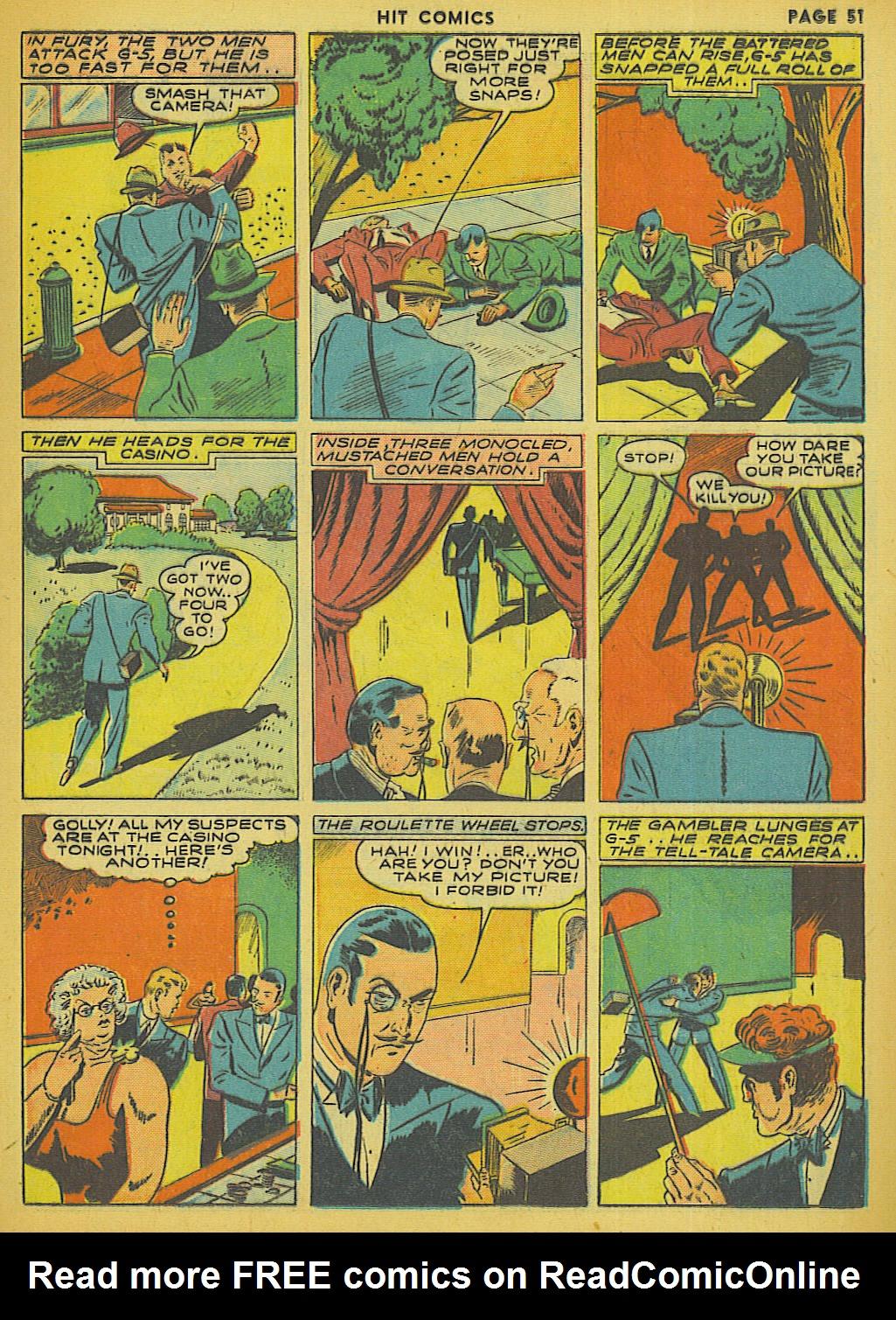 Read online Hit Comics comic -  Issue #13 - 53