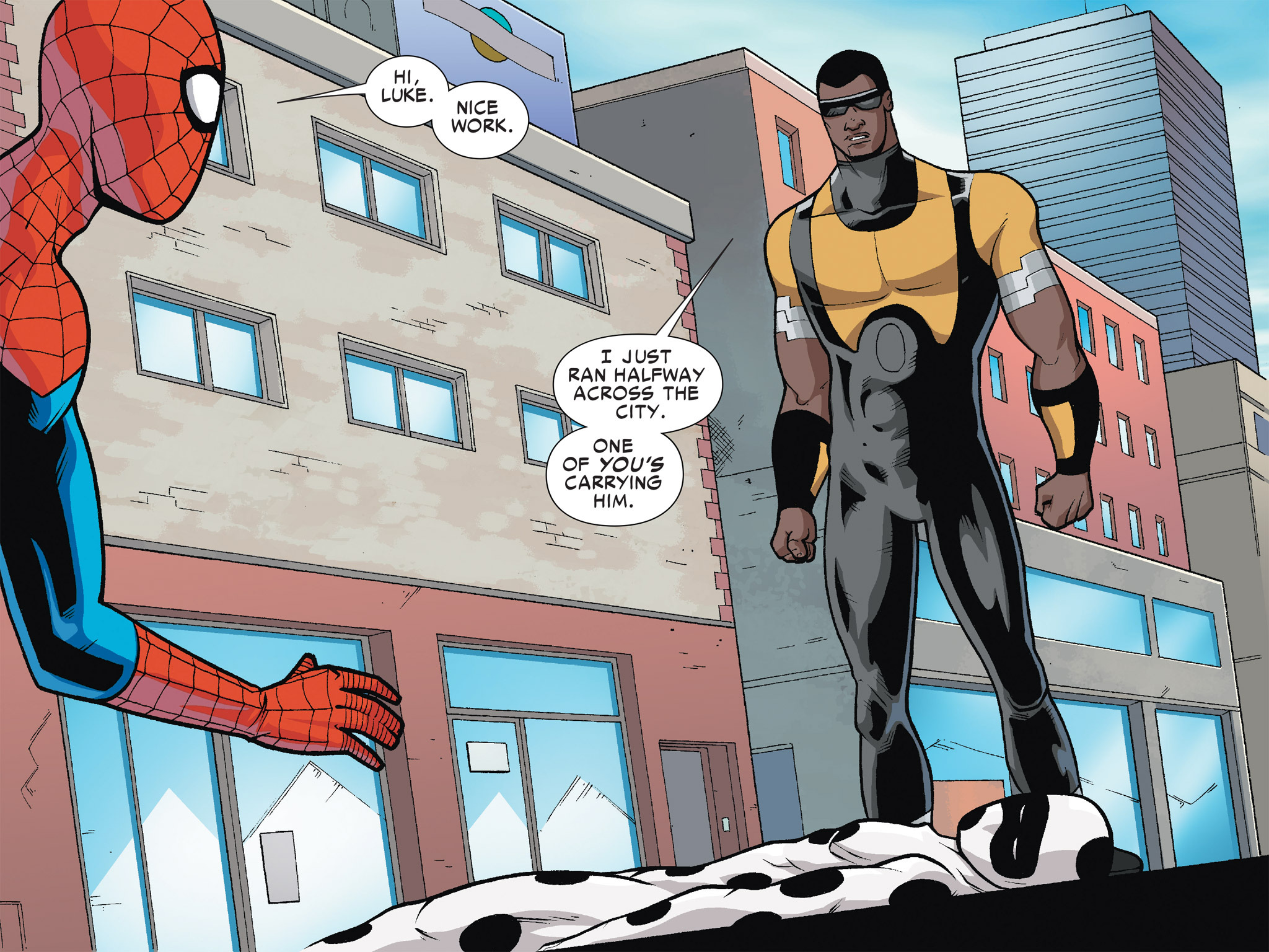 Read online Ultimate Spider-Man (Infinite Comics) (2016) comic -  Issue #6 - 48