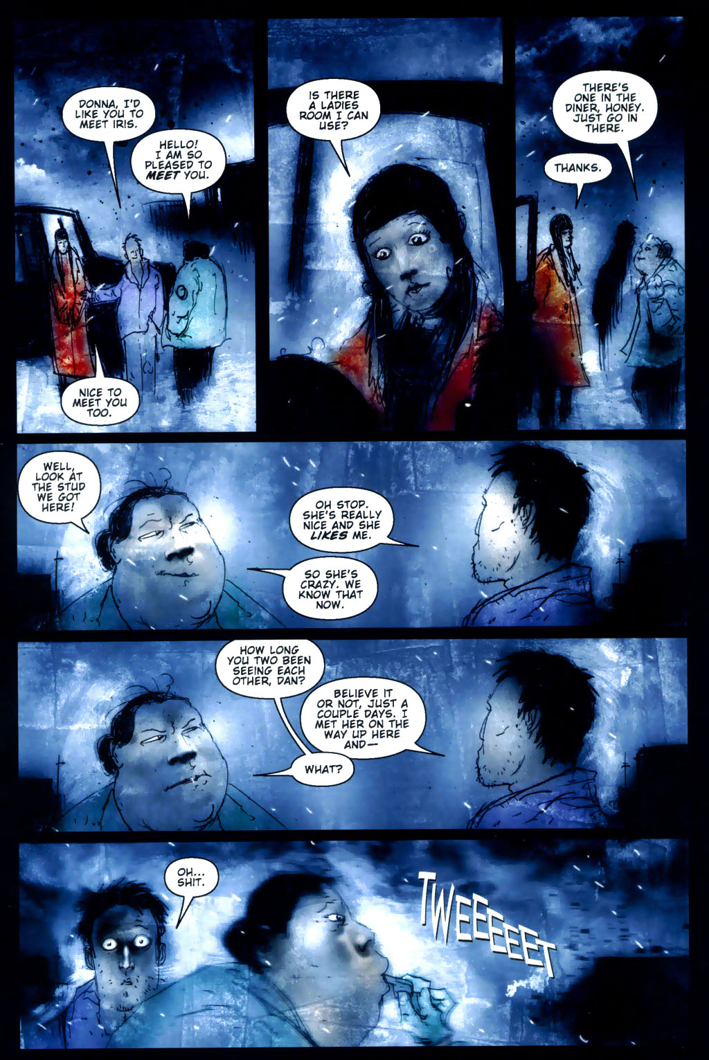 Read online 30 Days of Night: Return to Barrow comic -  Issue #3 - 13