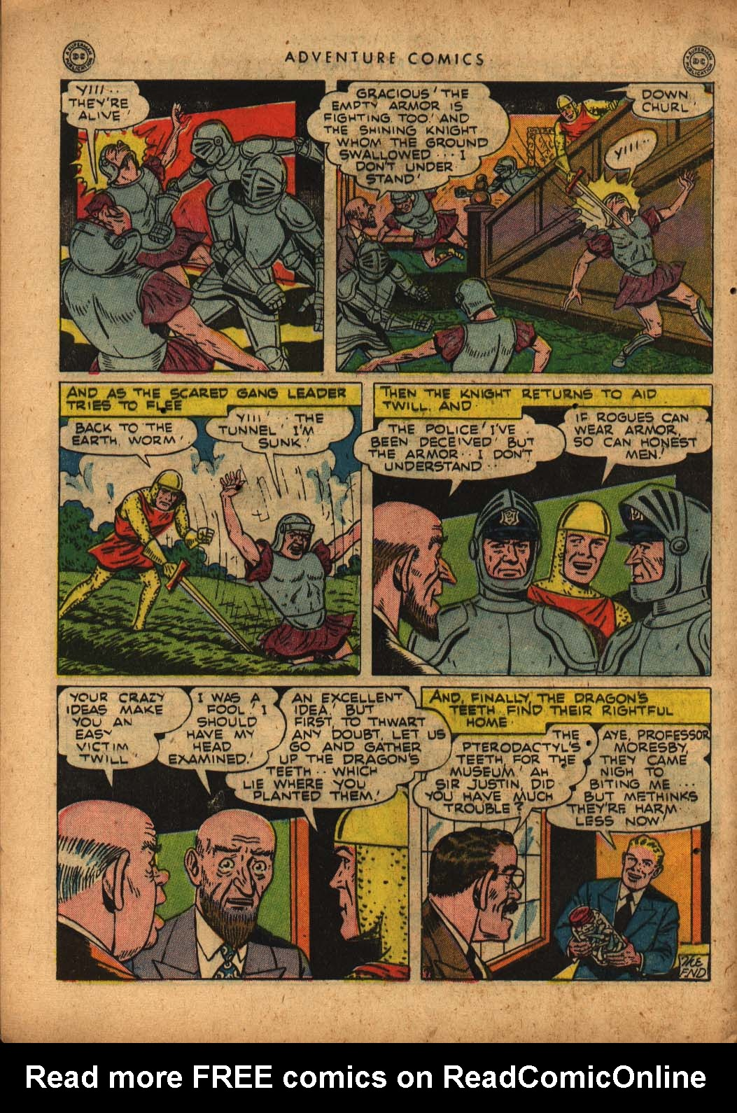 Read online Adventure Comics (1938) comic -  Issue #109 - 40