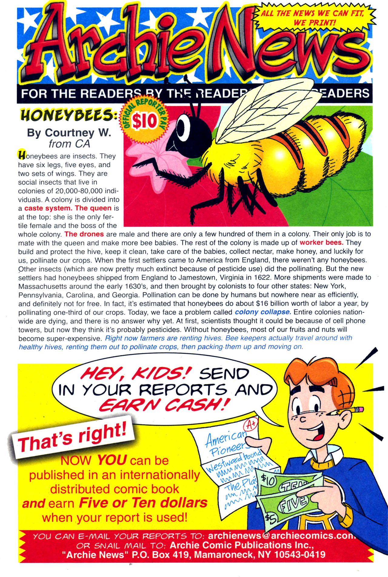 Read online Archie (1960) comic -  Issue #579 - 20