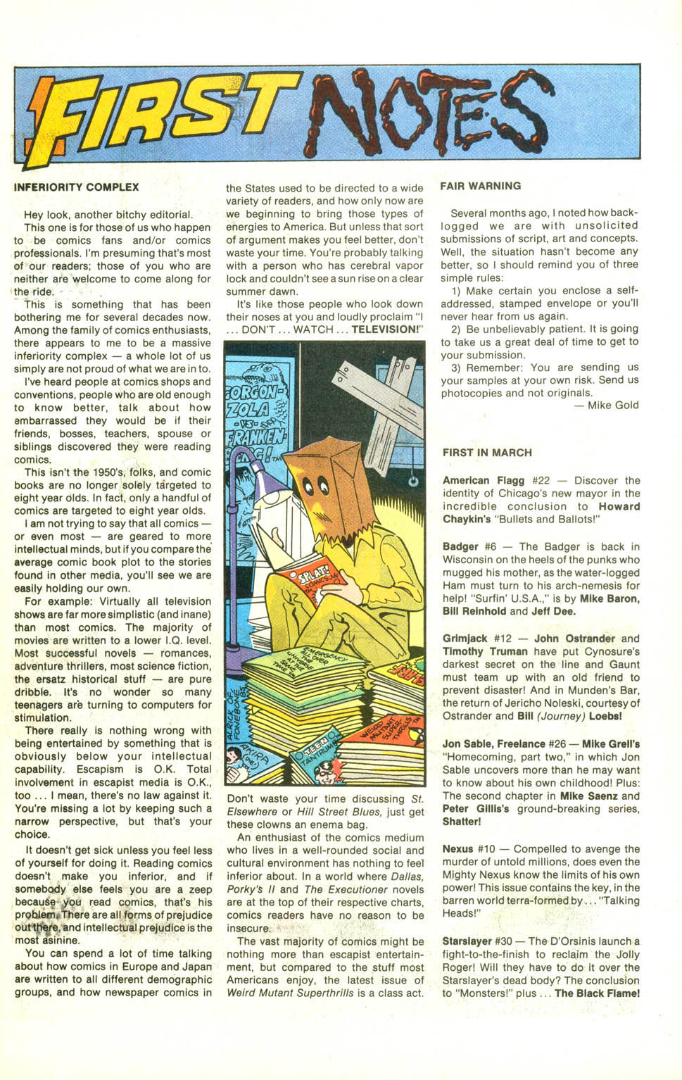 Read online American Flagg! comic -  Issue #22 - 8
