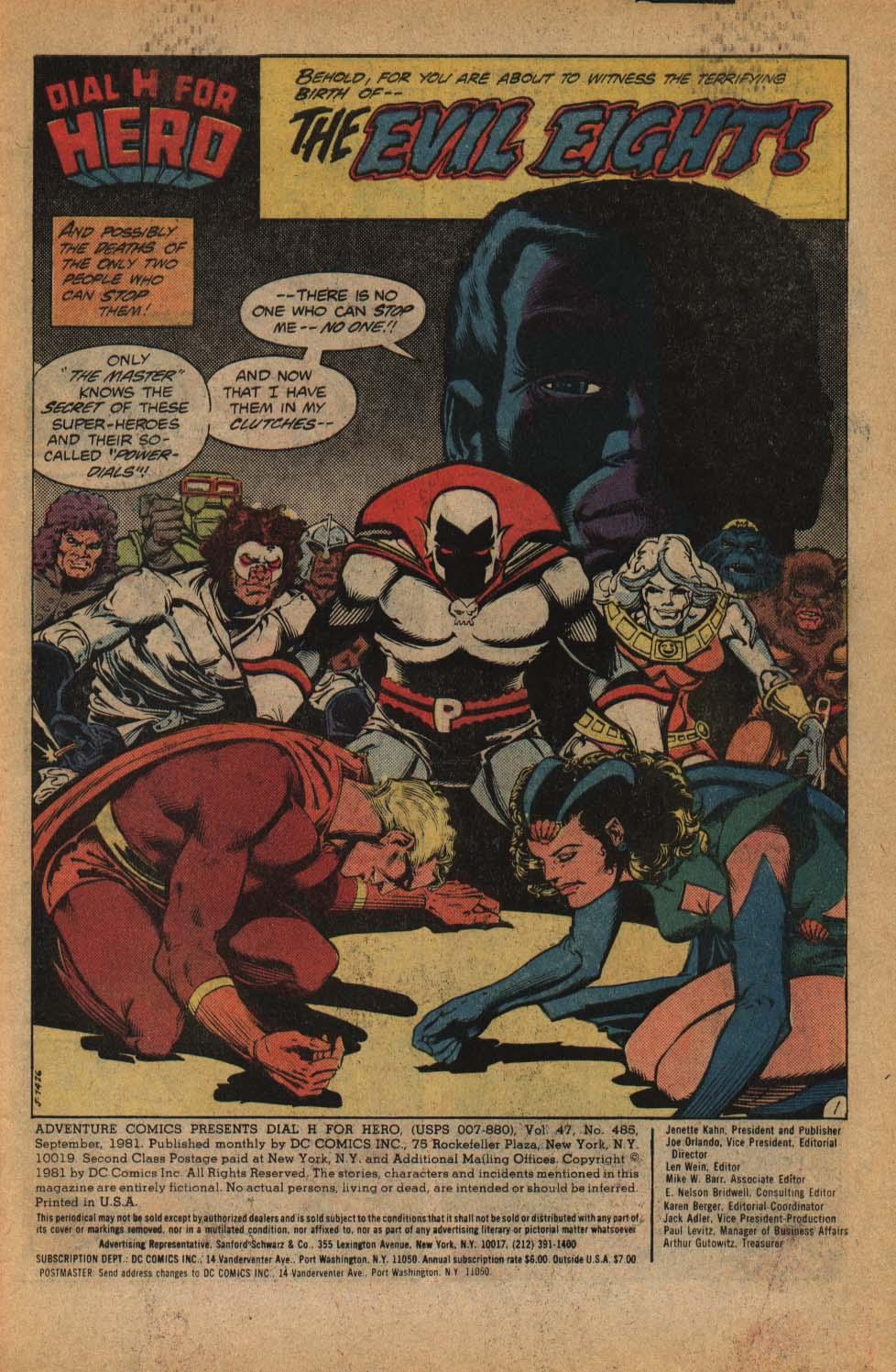 Read online Adventure Comics (1938) comic -  Issue #485 - 3