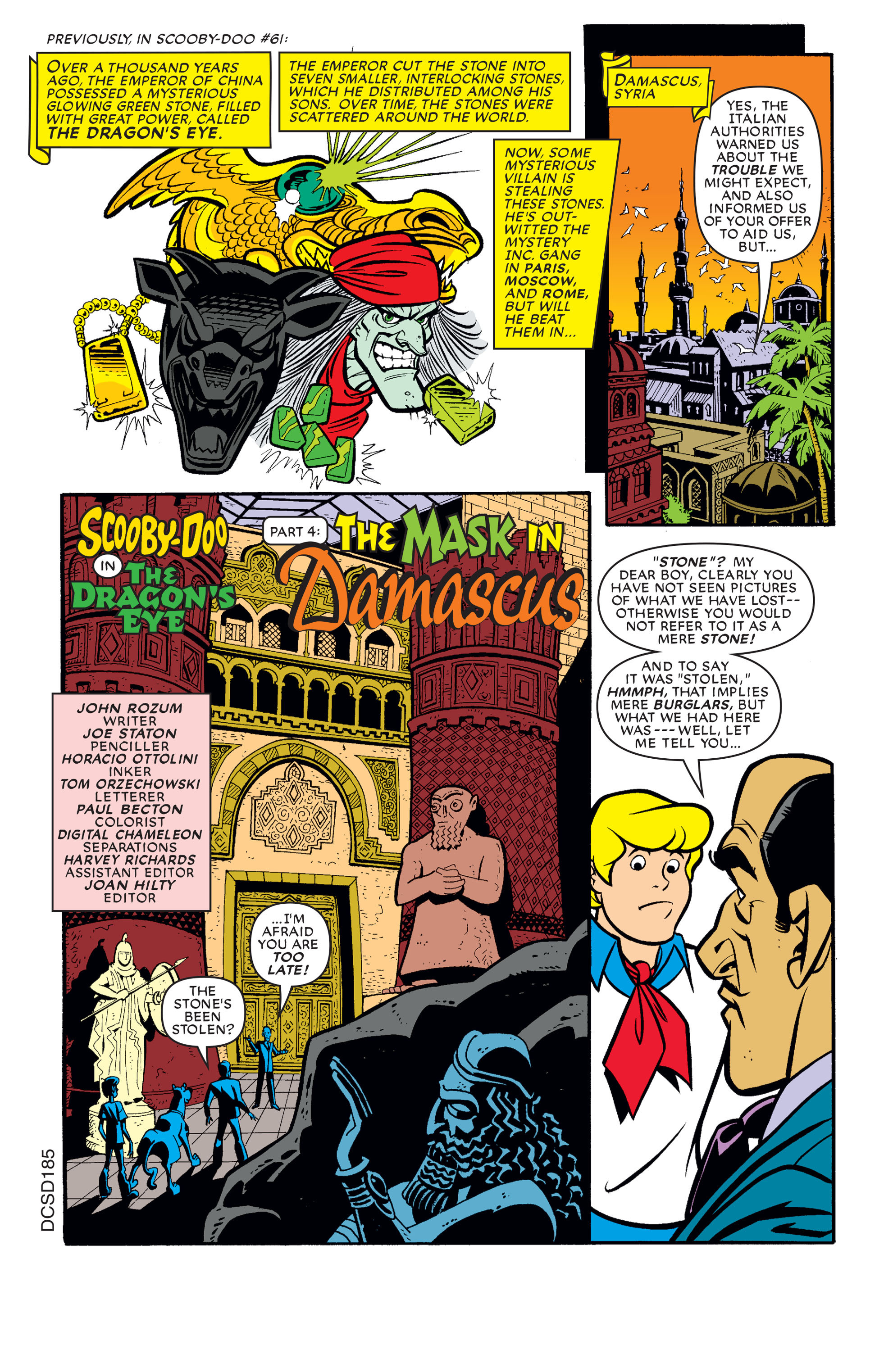 Read online Scooby-Doo (1997) comic -  Issue #62 - 12
