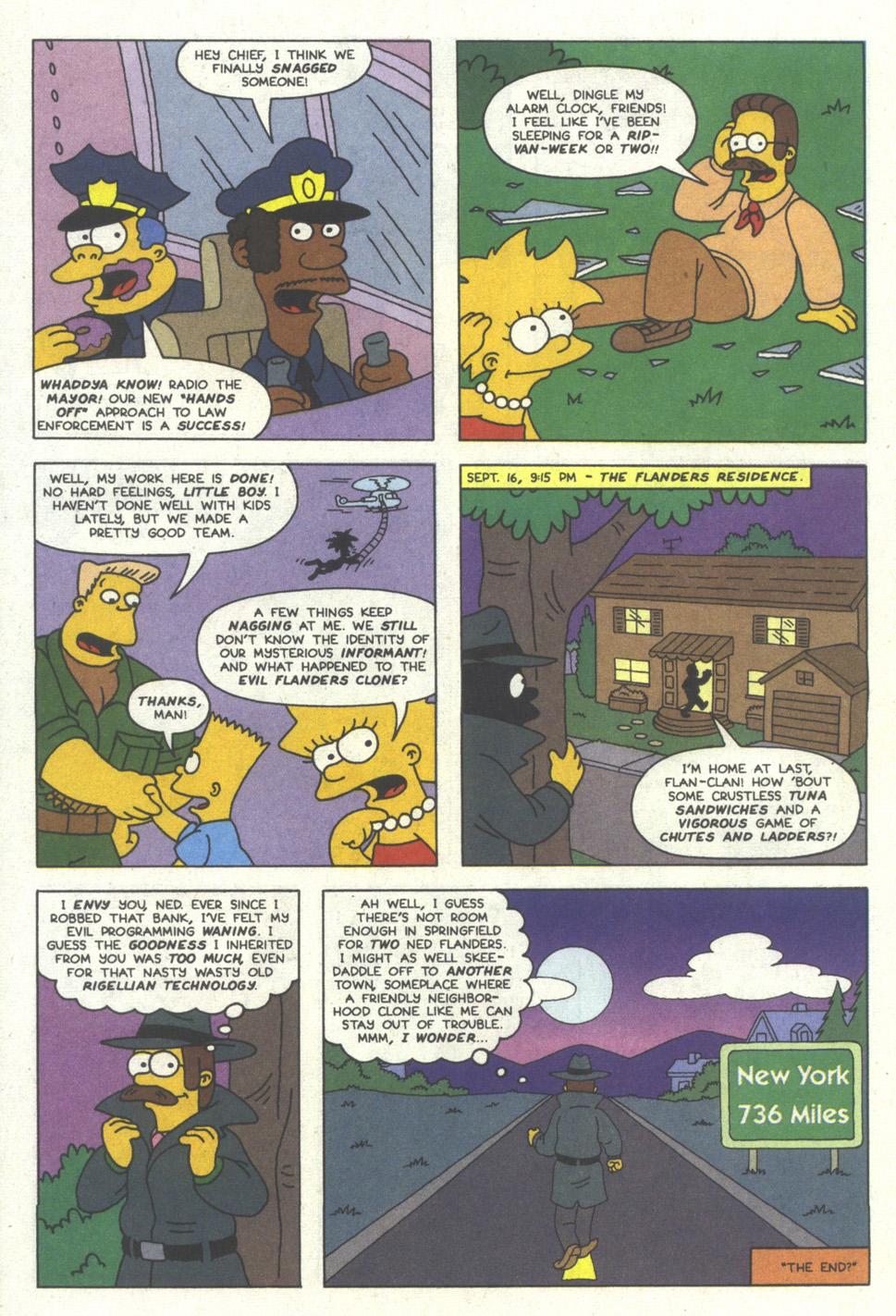 Read online Simpsons Comics comic -  Issue #11 - 23