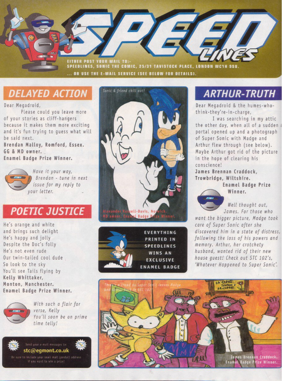 Read online Sonic the Comic comic -  Issue #116 - 27
