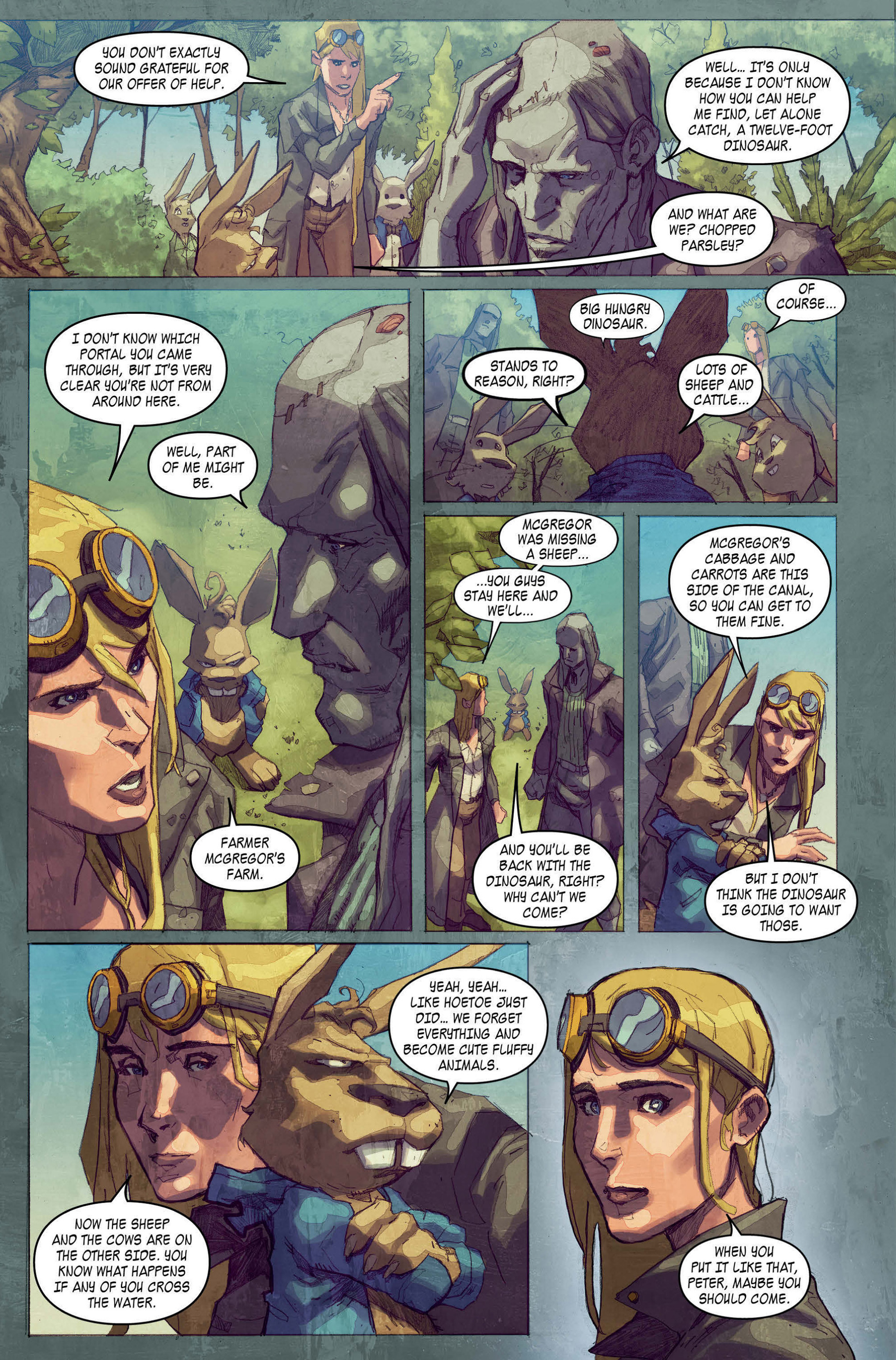Read online A1 comic -  Issue #4 - 4