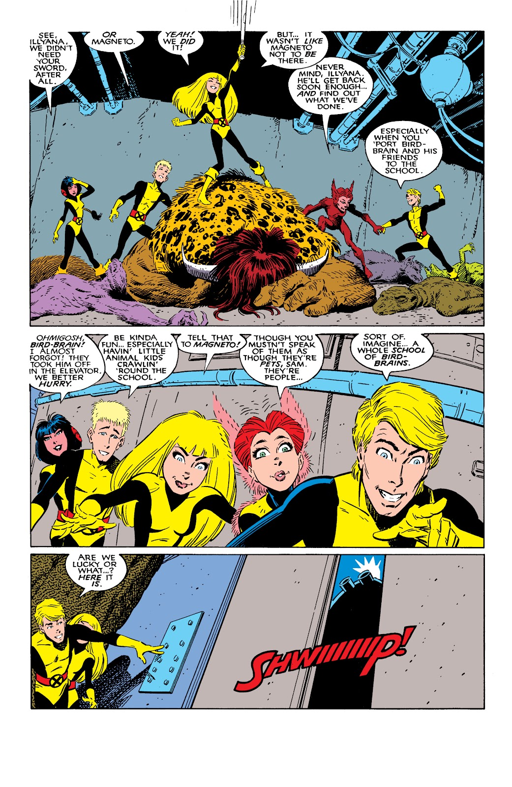 Read online X-Men Milestones: Fall of the Mutants comic -  Issue # TPB (Part 2) - 38
