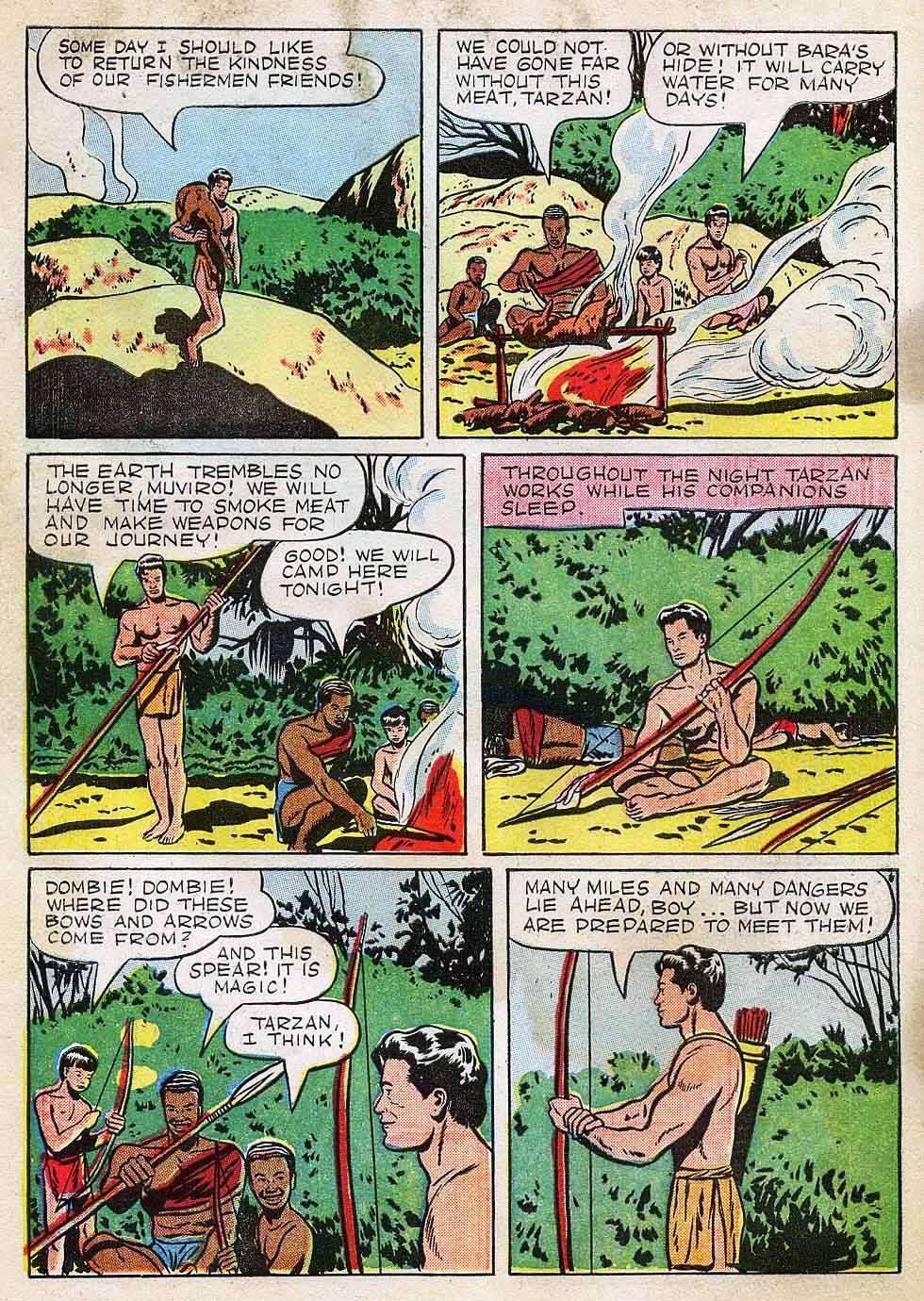 Tarzan (1948) issue 7 - Page 34
