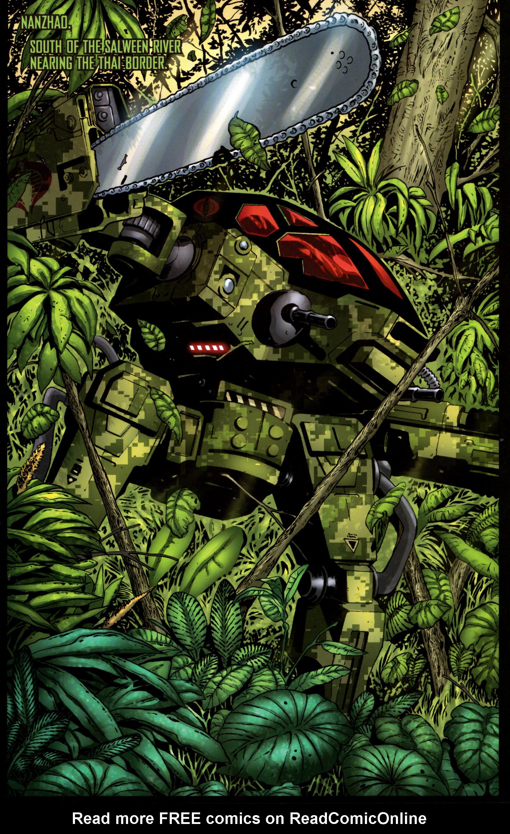 Read online G.I. Joe: Snake Eyes comic -  Issue #9 - 4