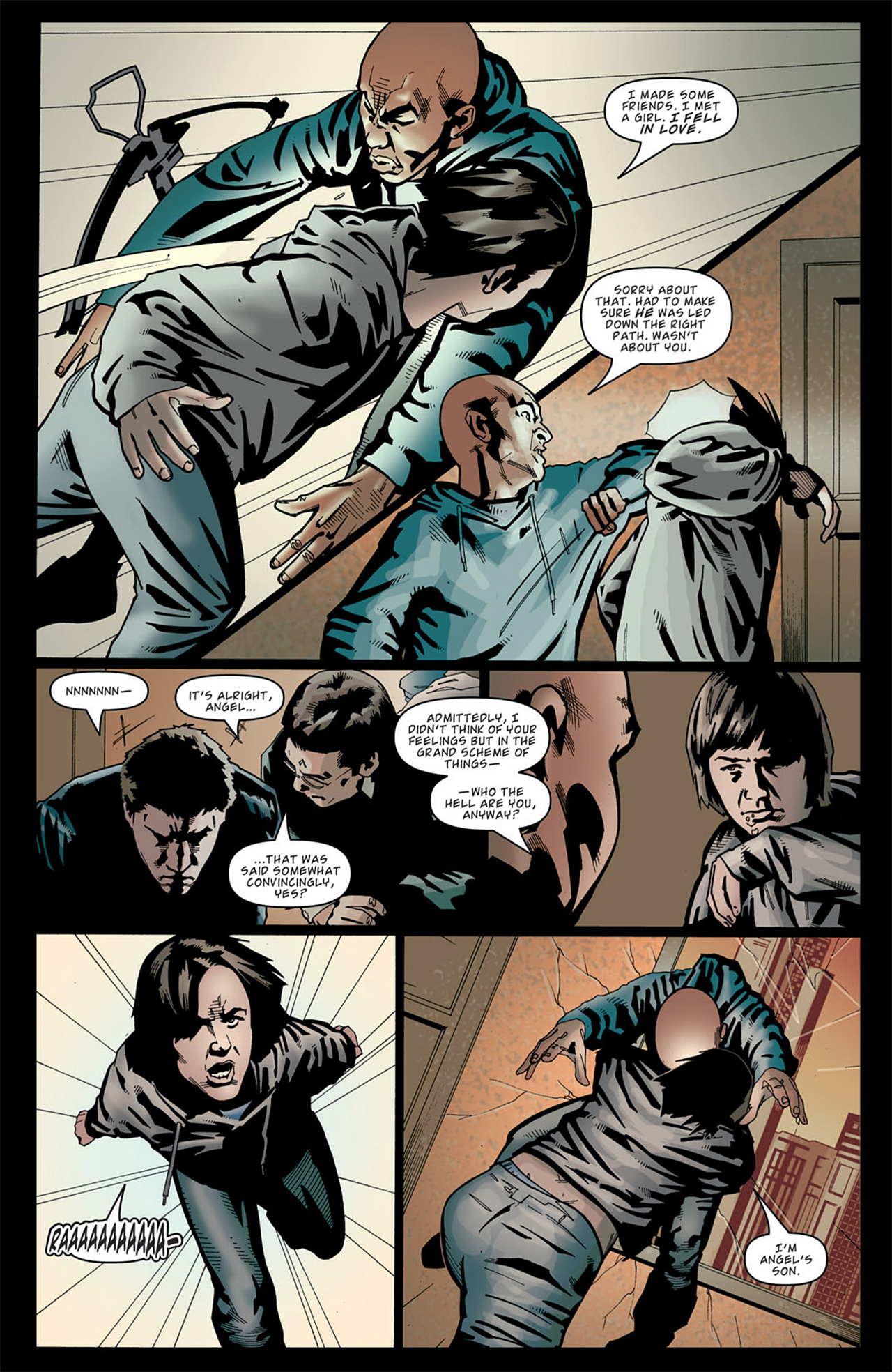 Read online Angel: After The Fall comic -  Issue #13 - 17
