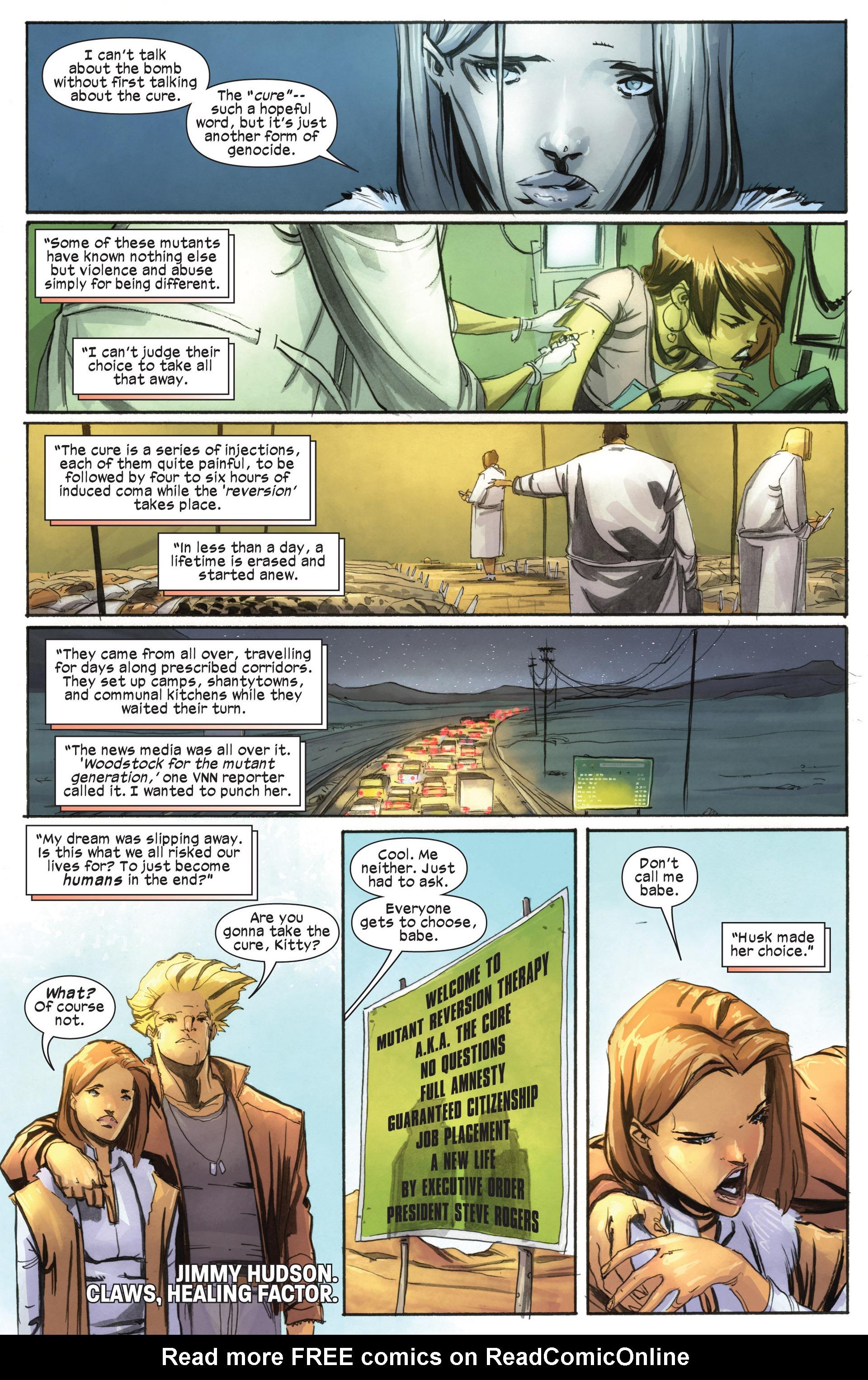 Read online Ultimate Comics X-Men comic -  Issue #18.1 - 7