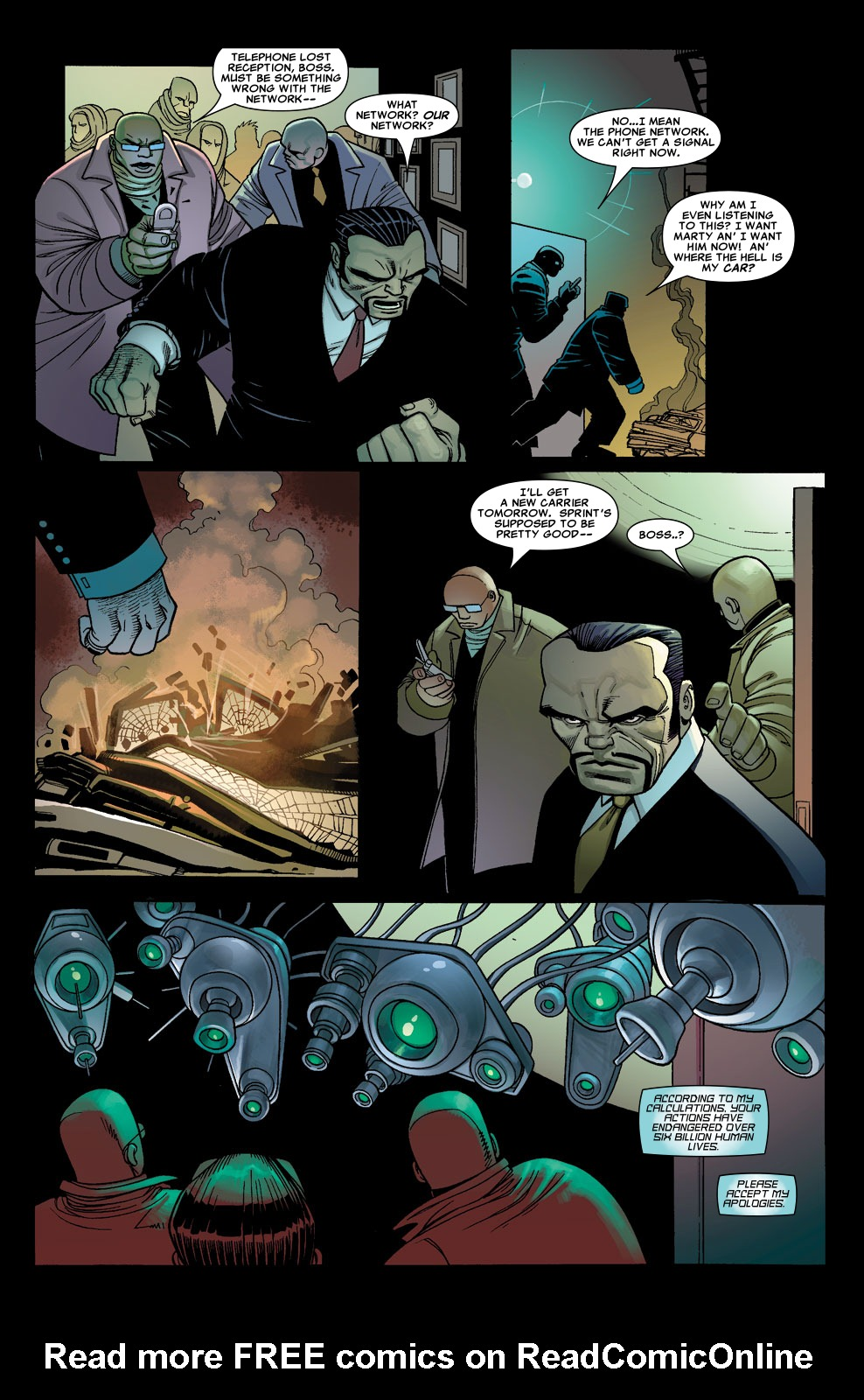 Read online Sentry (2006) comic -  Issue #5 - 13