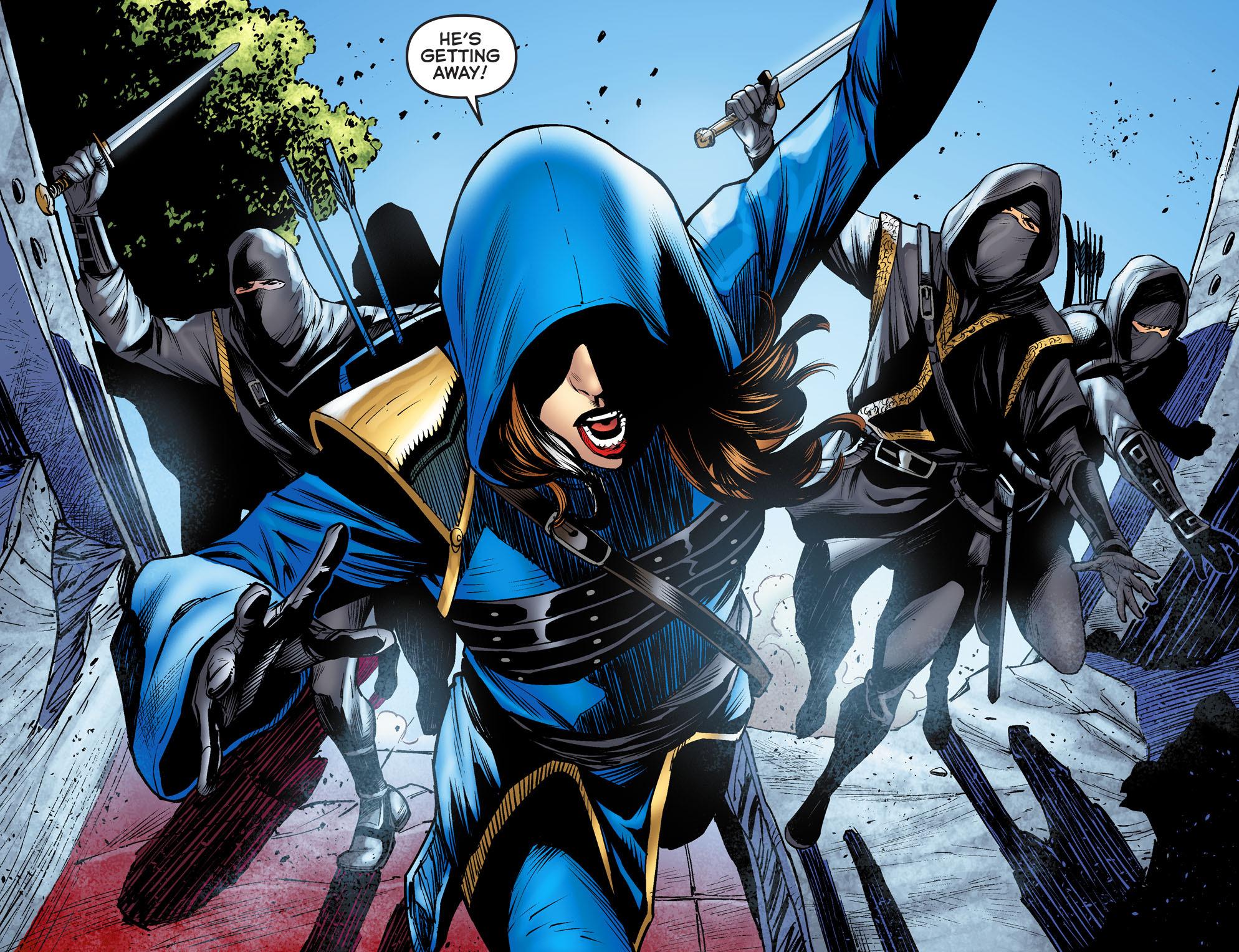 Read online Arrow: The Dark Archer comic -  Issue #3 - 6