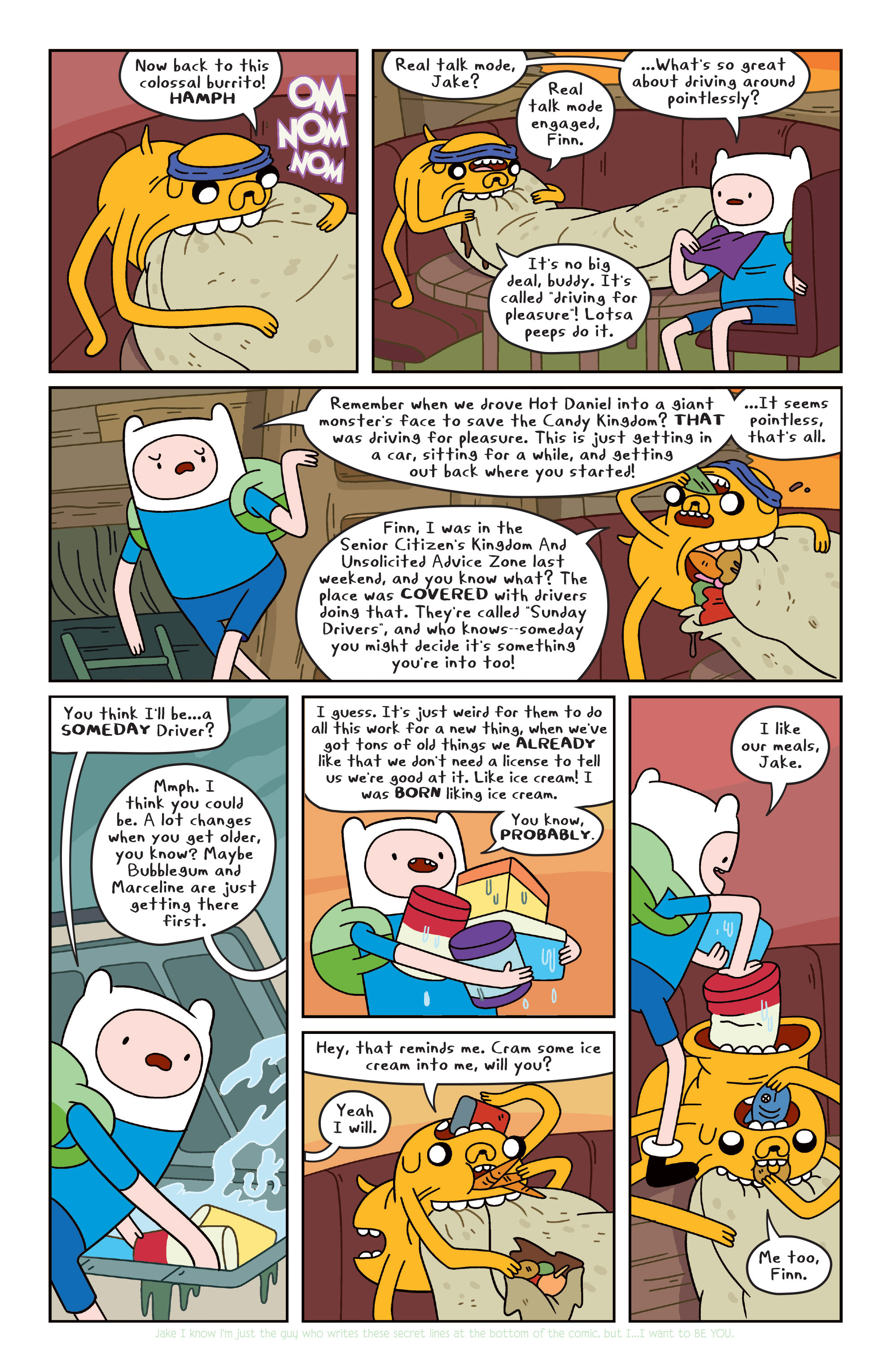 Read online Adventure Time comic -  Issue #31 - 10