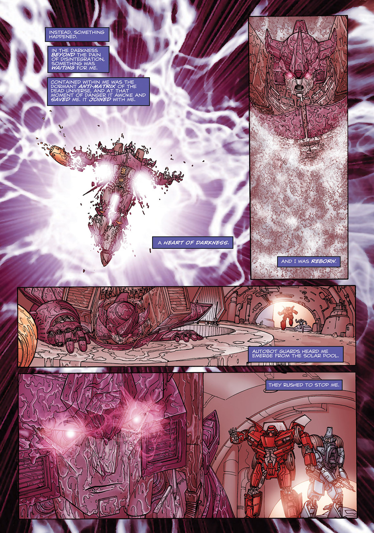Read online Transformers: Heart of Darkness comic -  Issue #1 - 11