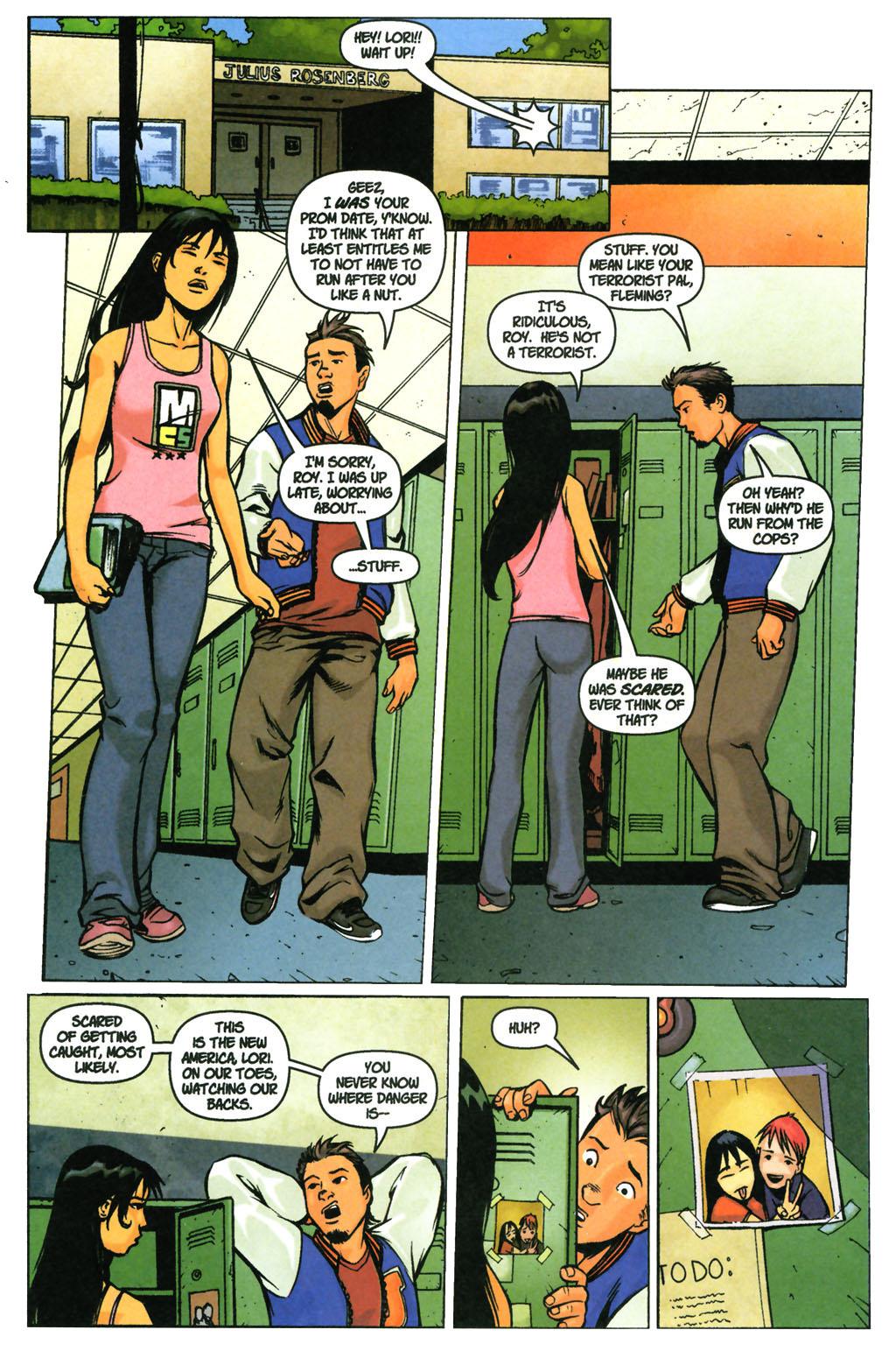 Read online SpyBoy: Final Exam comic -  Issue #3 - 18