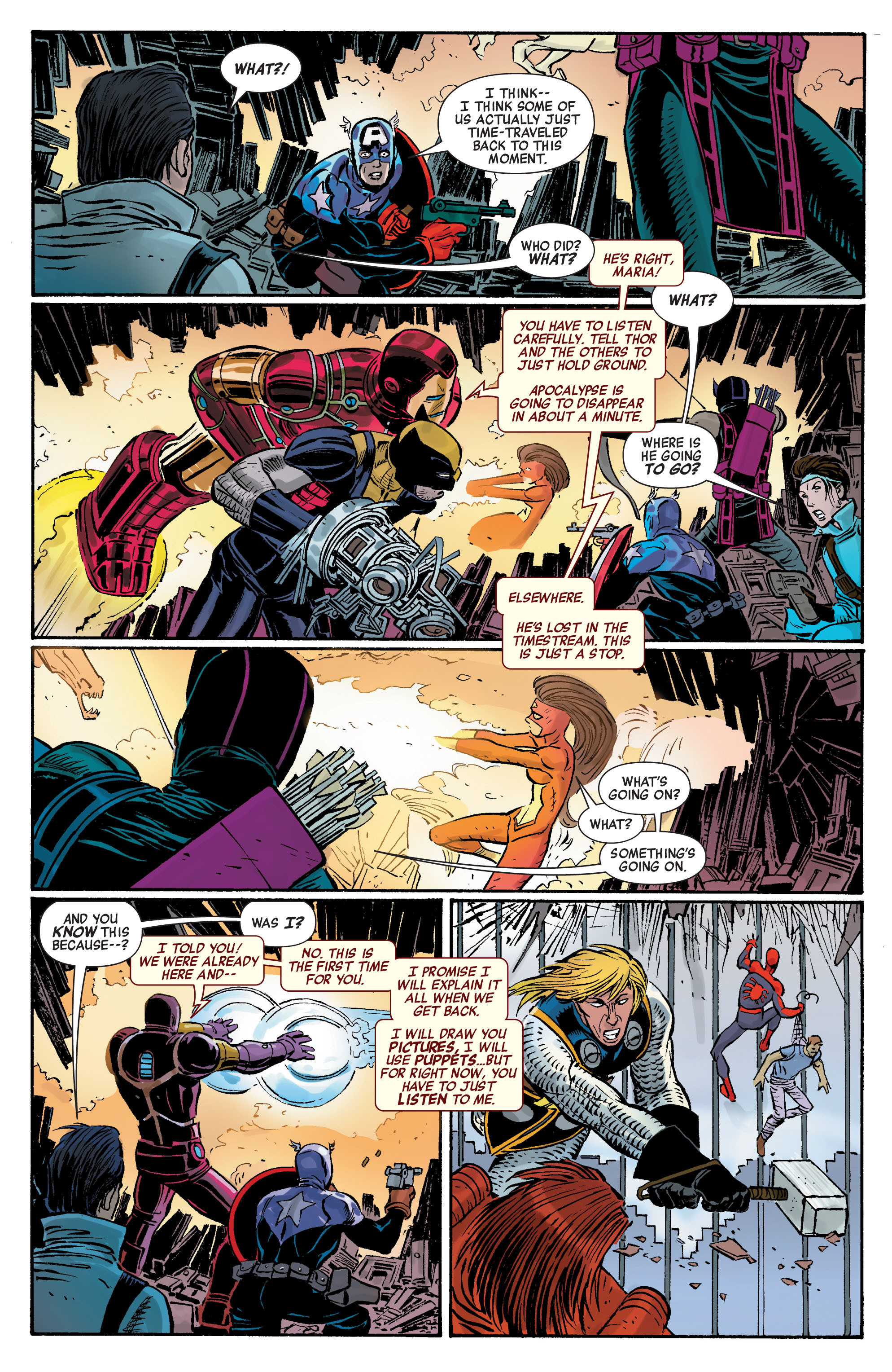 Read online Avengers (2010) comic -  Issue #5 - 15