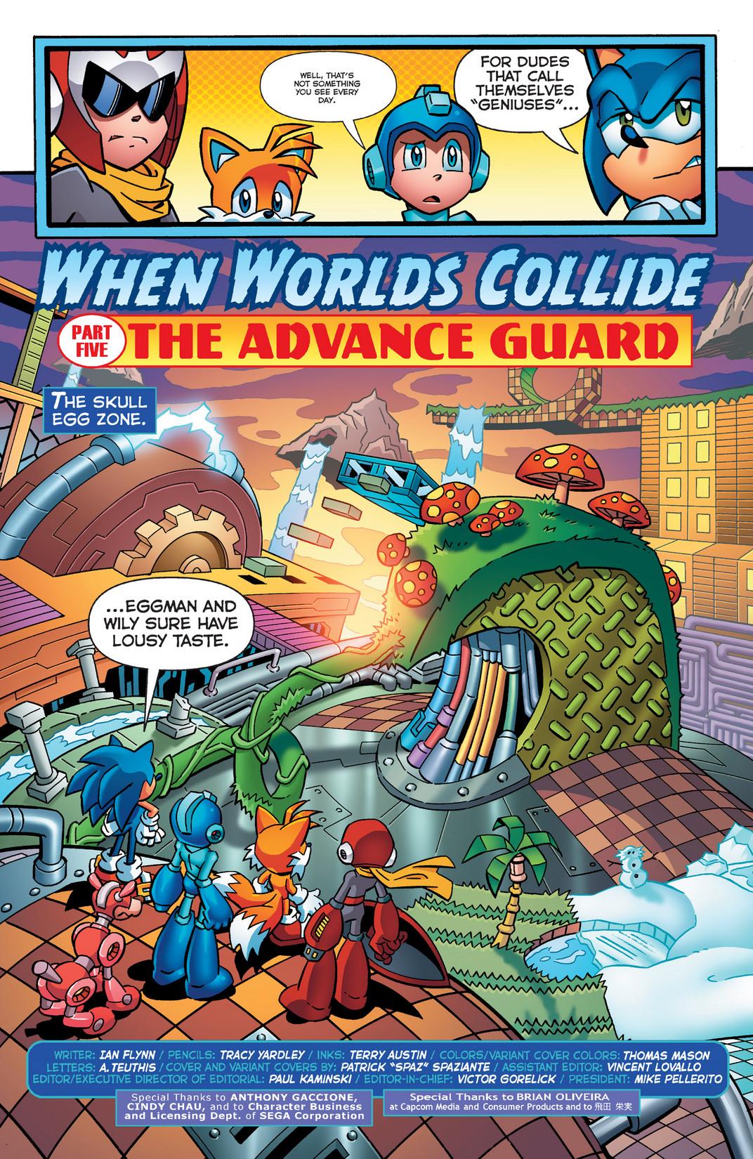 Read online Sonic Mega Man Worlds Collide comic -  Issue # Vol 2 - 10