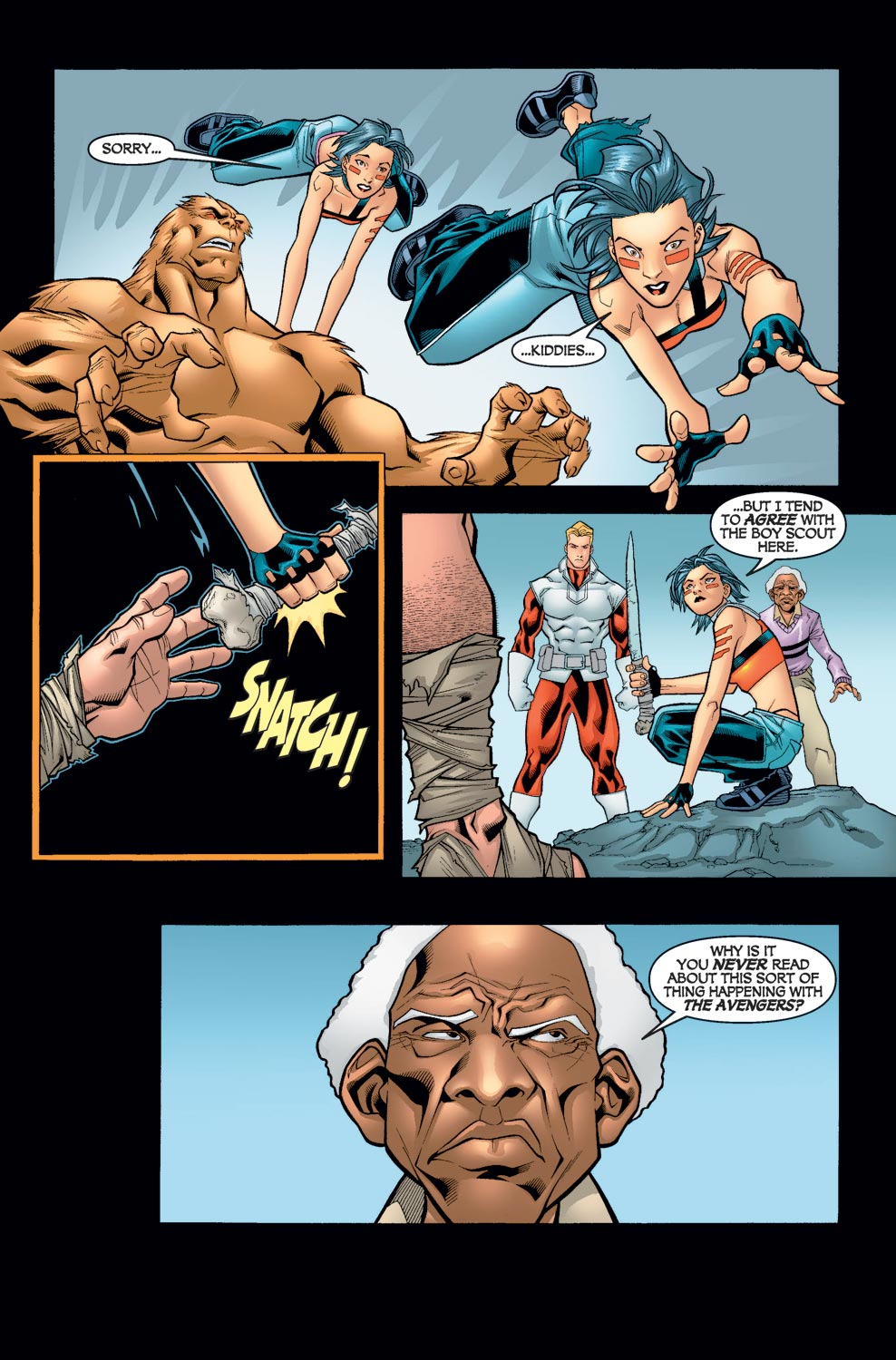 Alpha Flight (2004) issue 6 - Page 10