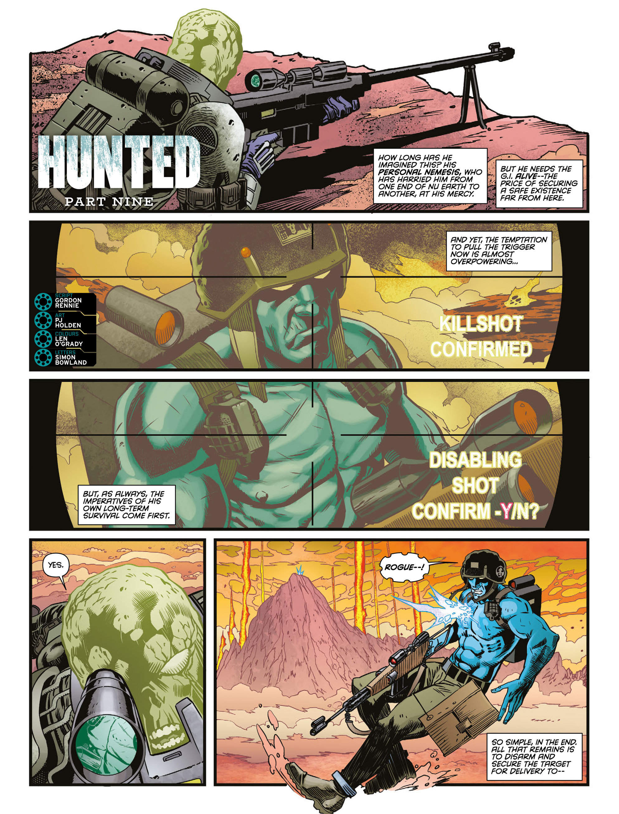 Read online 2000 AD comic -  Issue #2009 - 15