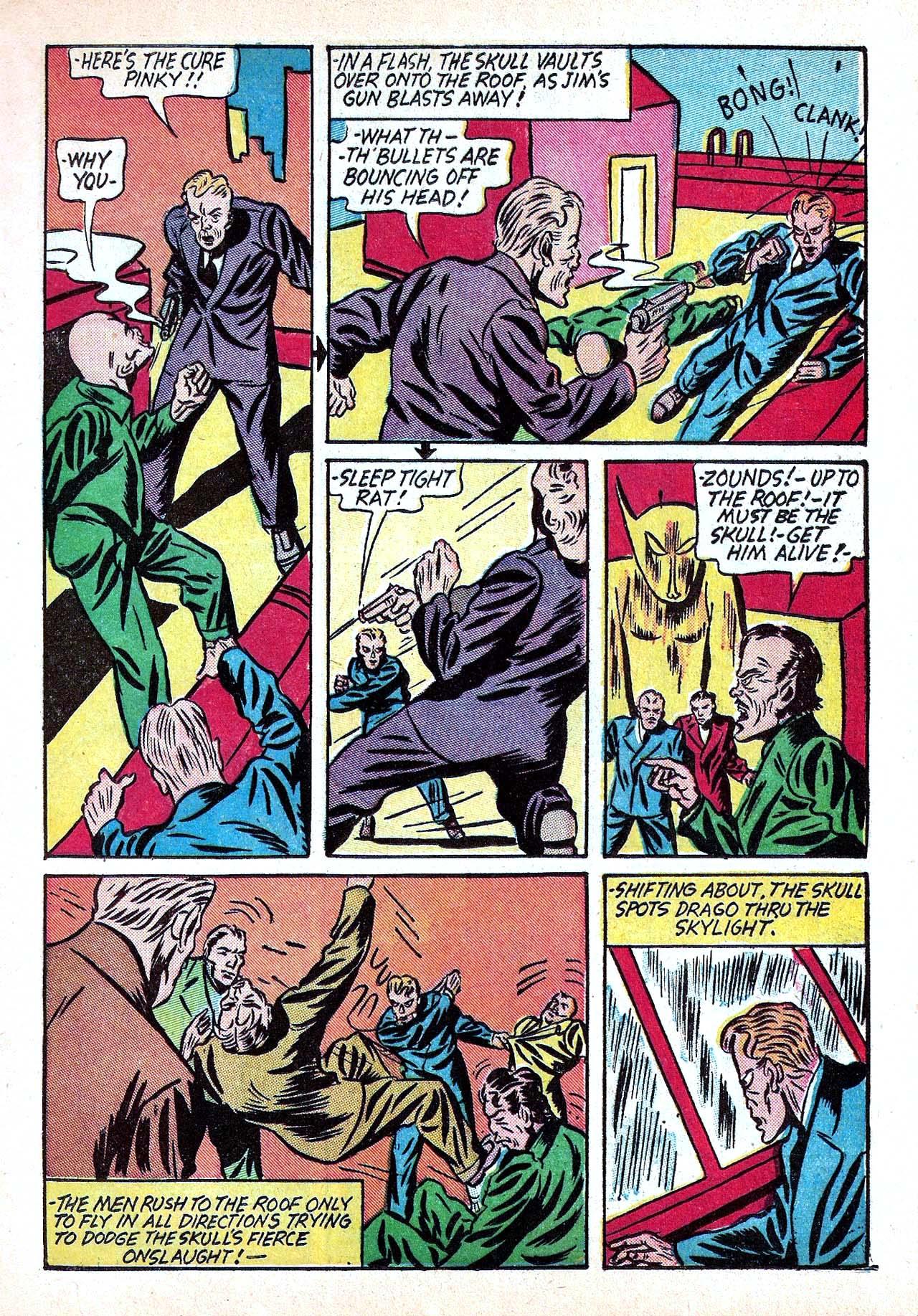 Read online Amazing Man Comics comic -  Issue #11 - 23