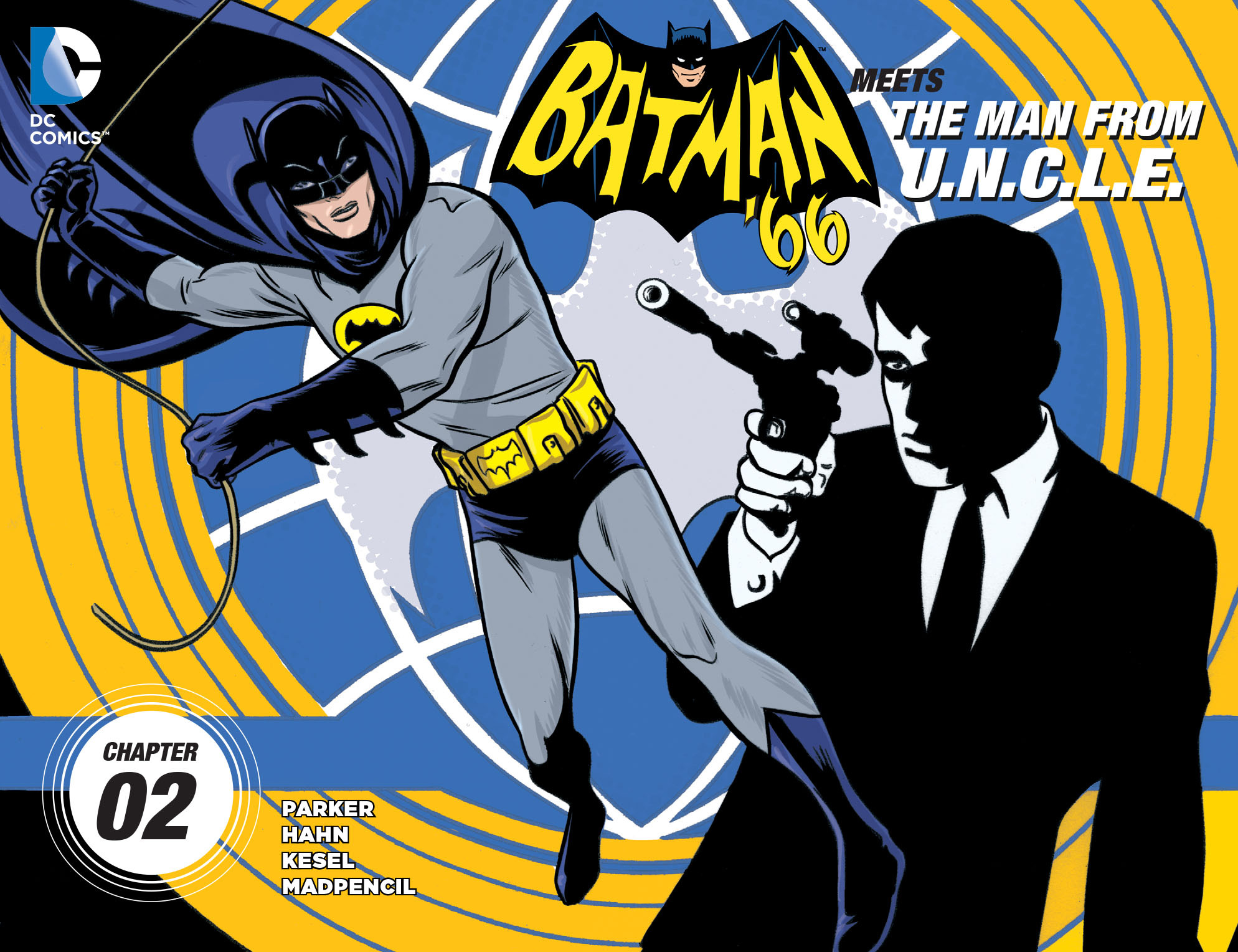 Batman 66 Meets the Man from U.N.C.L.E. 2 Page 1
