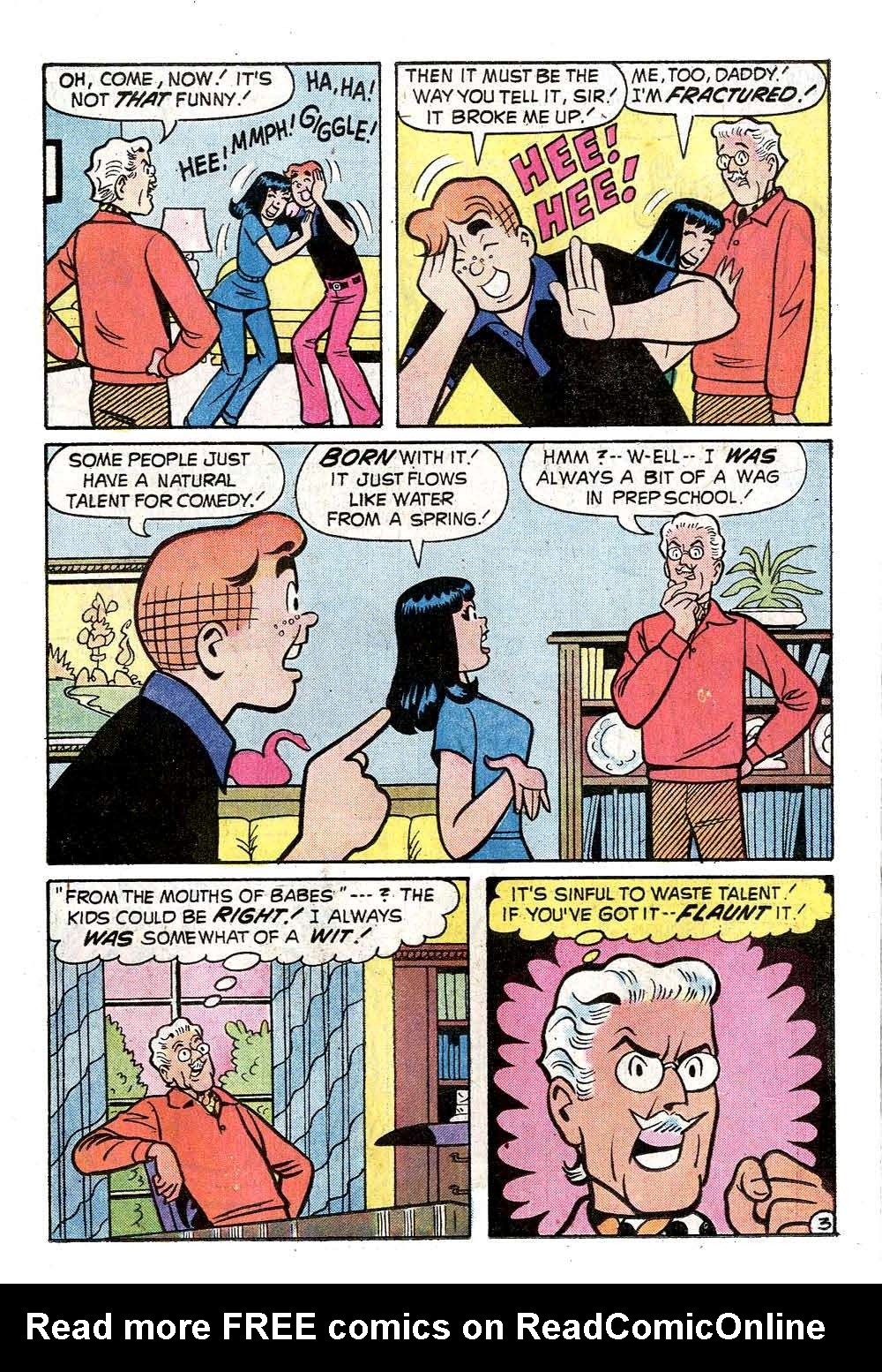 Read online Archie (1960) comic -  Issue #237 - 15