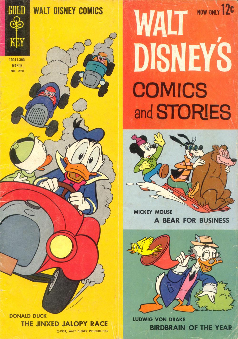 Walt Disneys Comics and Stories 270 Page 1
