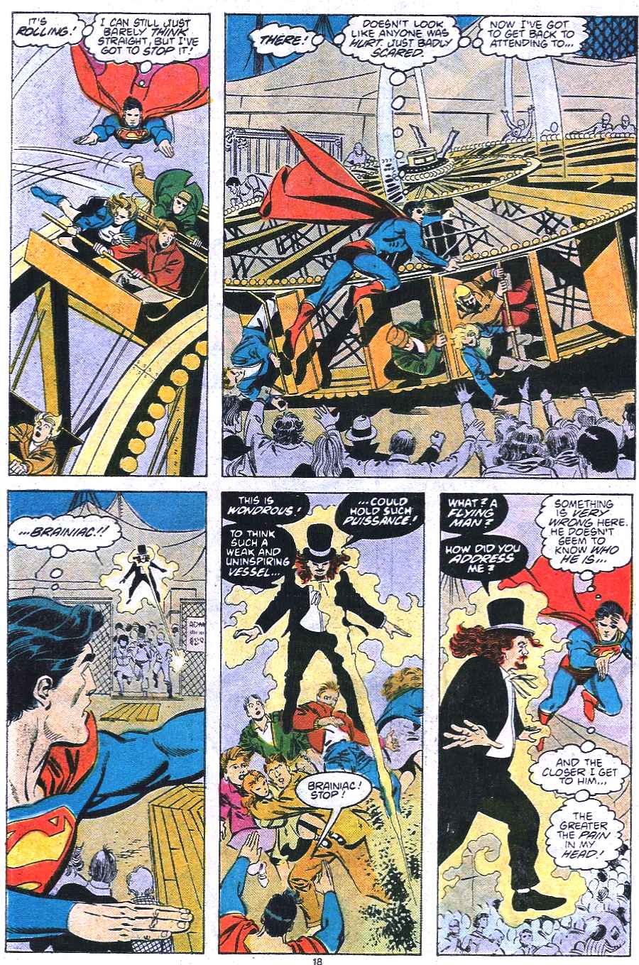 Read online Adventures of Superman (1987) comic -  Issue #438 - 19