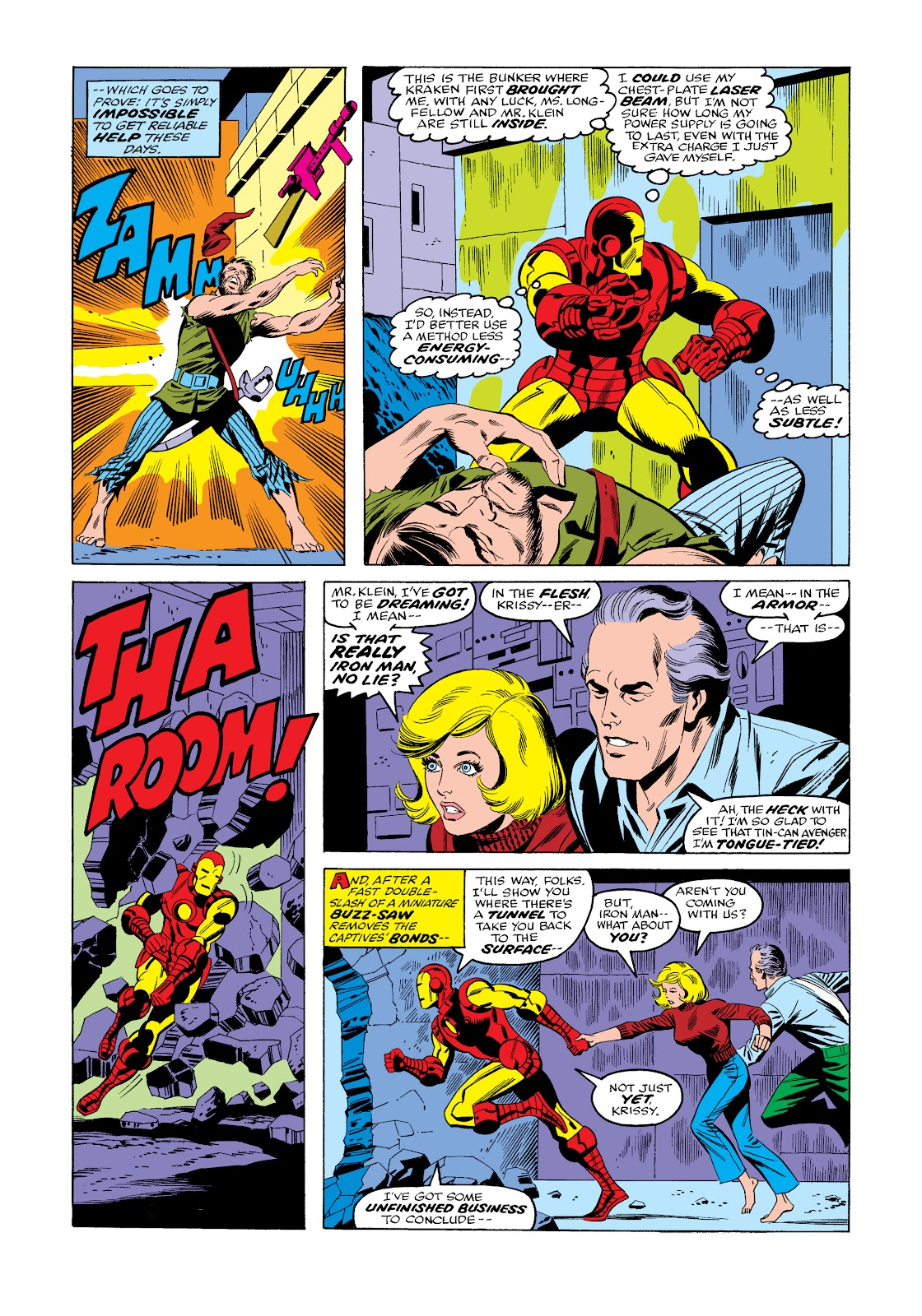 Read online Marvel Masterworks: The Invincible Iron Man comic -  Issue # TPB 11 (Part 3) - 78