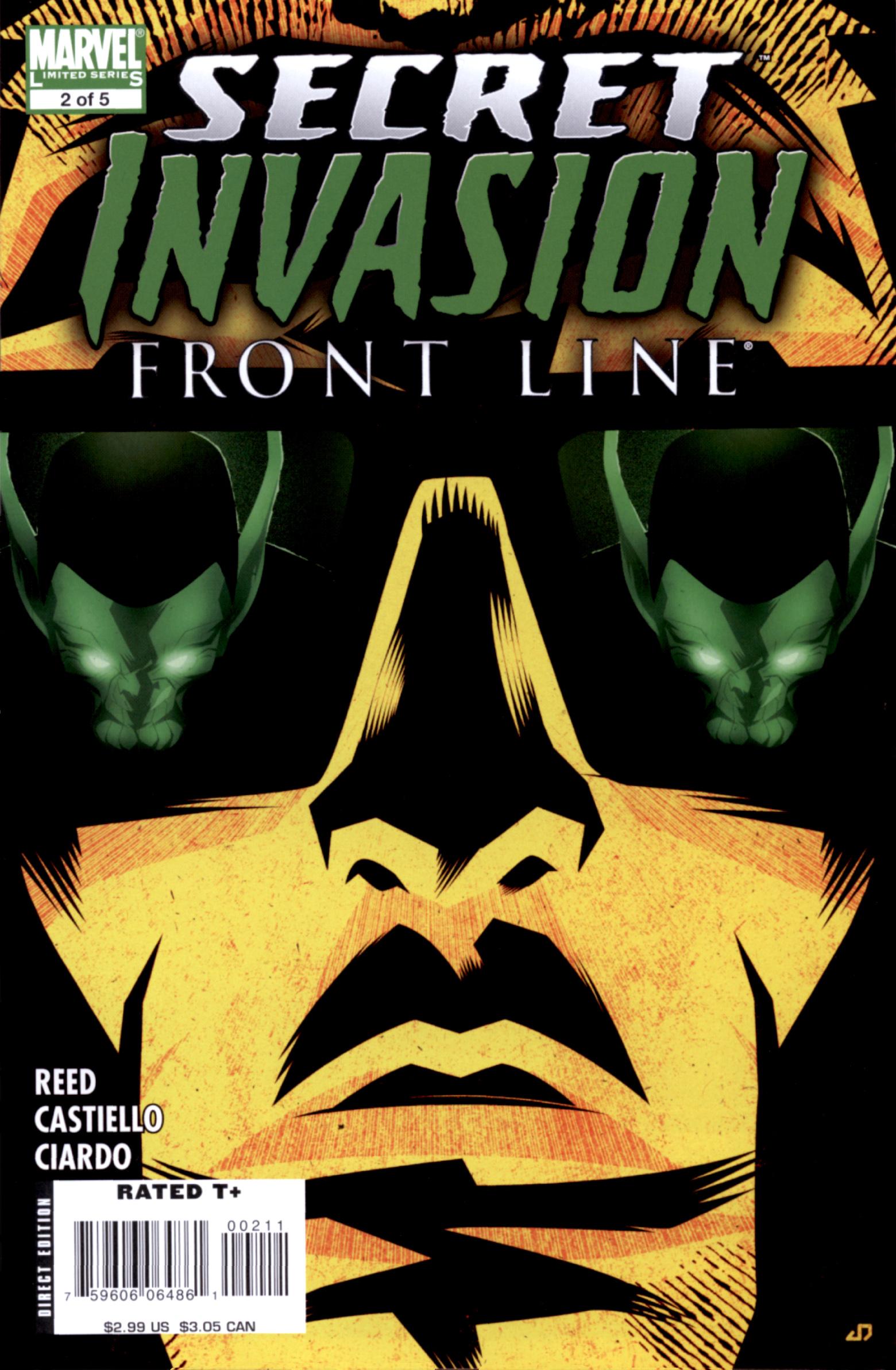Read online Secret Invasion: Front Line comic -  Issue #2 - 1