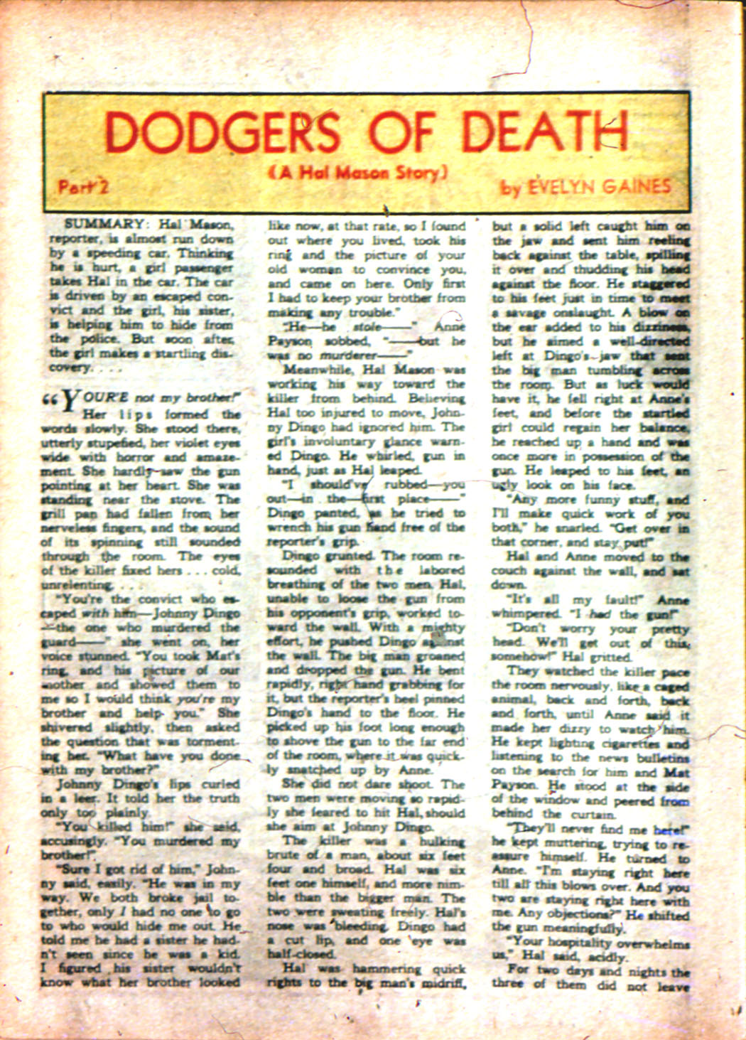 Read online Sensation (Mystery) Comics comic -  Issue #7 - 46