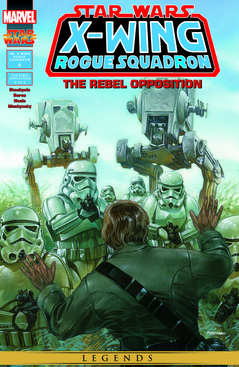 Star Wars: X-Wing Rogue Squadron issue 4 - Page 1