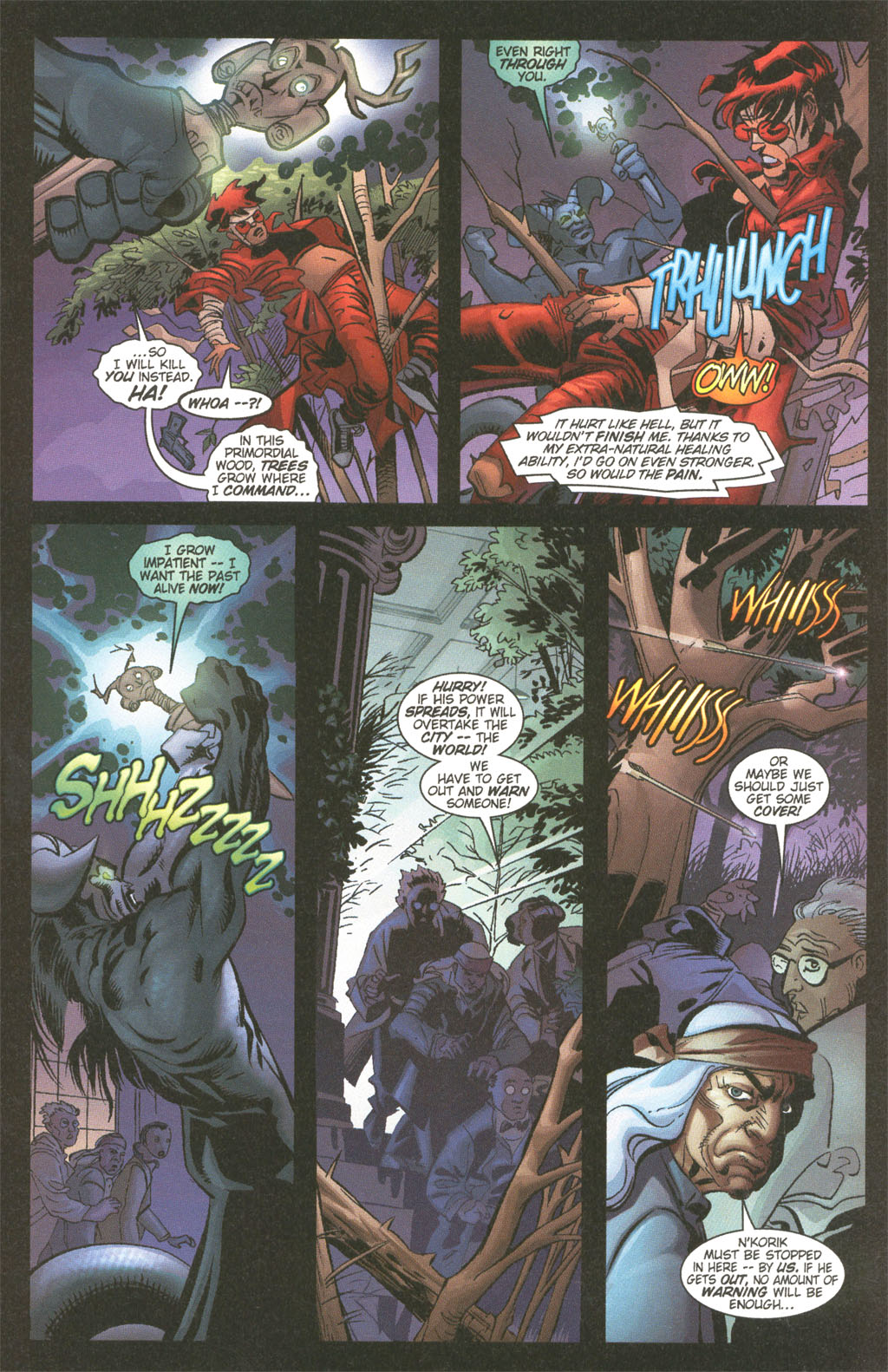 Read online Painkiller Jane/Hellboy comic -  Issue # Full - 15