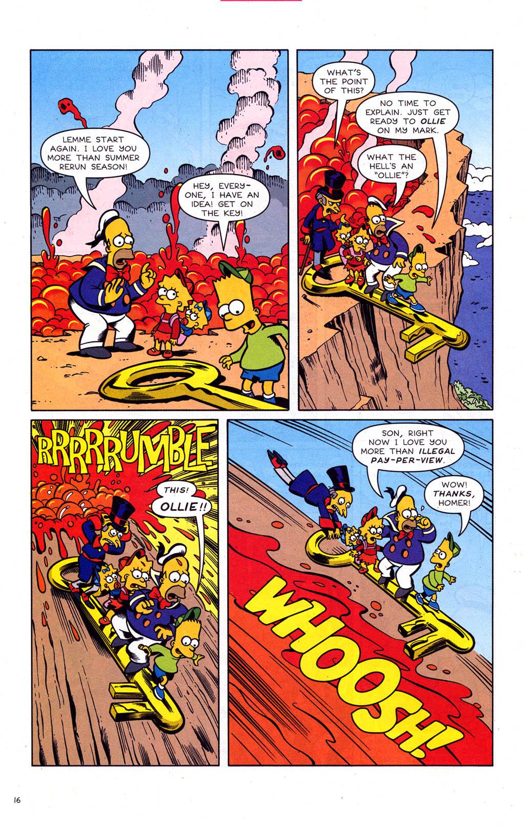 Read online Simpsons Comics comic -  Issue #102 - 17