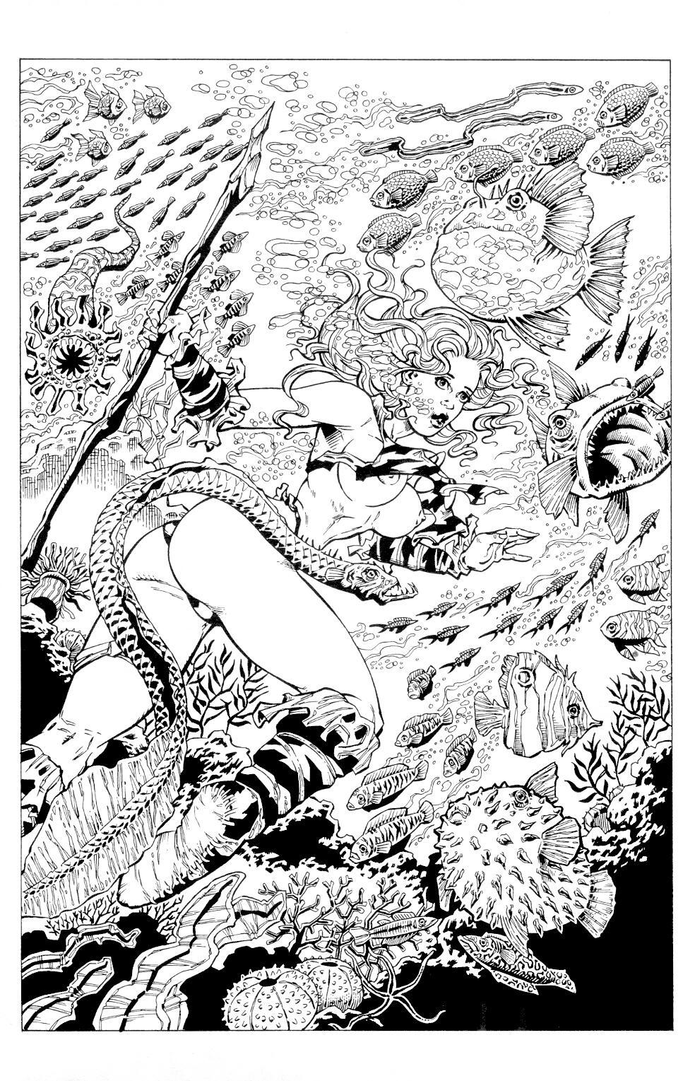Read online Jungle Fantasy (2002) comic -  Issue #4 - 8