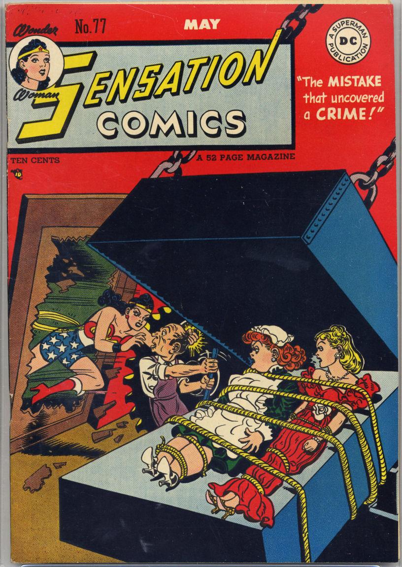 Read online Sensation (Mystery) Comics comic -  Issue #77 - 1