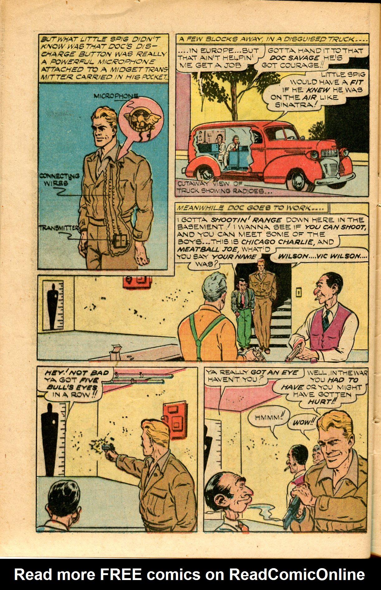 Read online Shadow Comics comic -  Issue #82 - 44