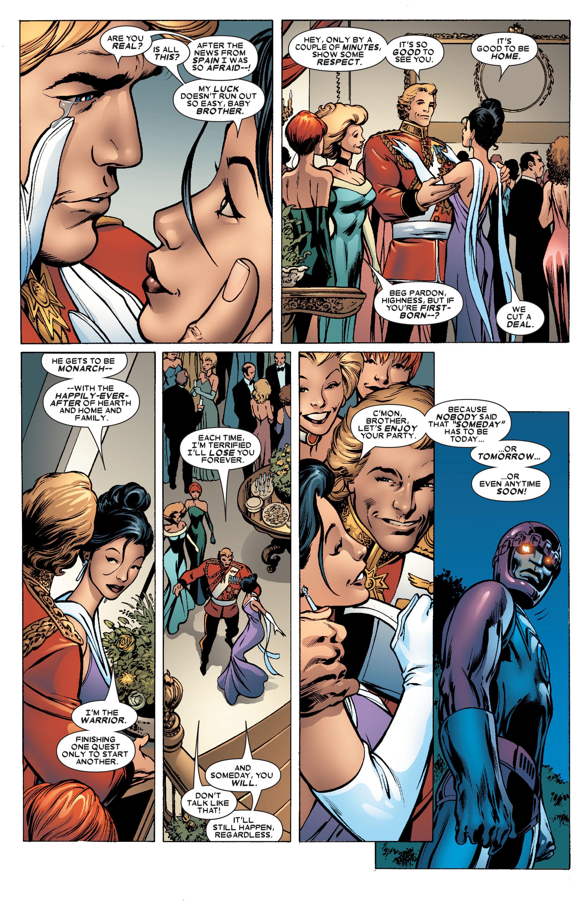 Read online Uncanny X-Men (1963) comic -  Issue #463 - 7