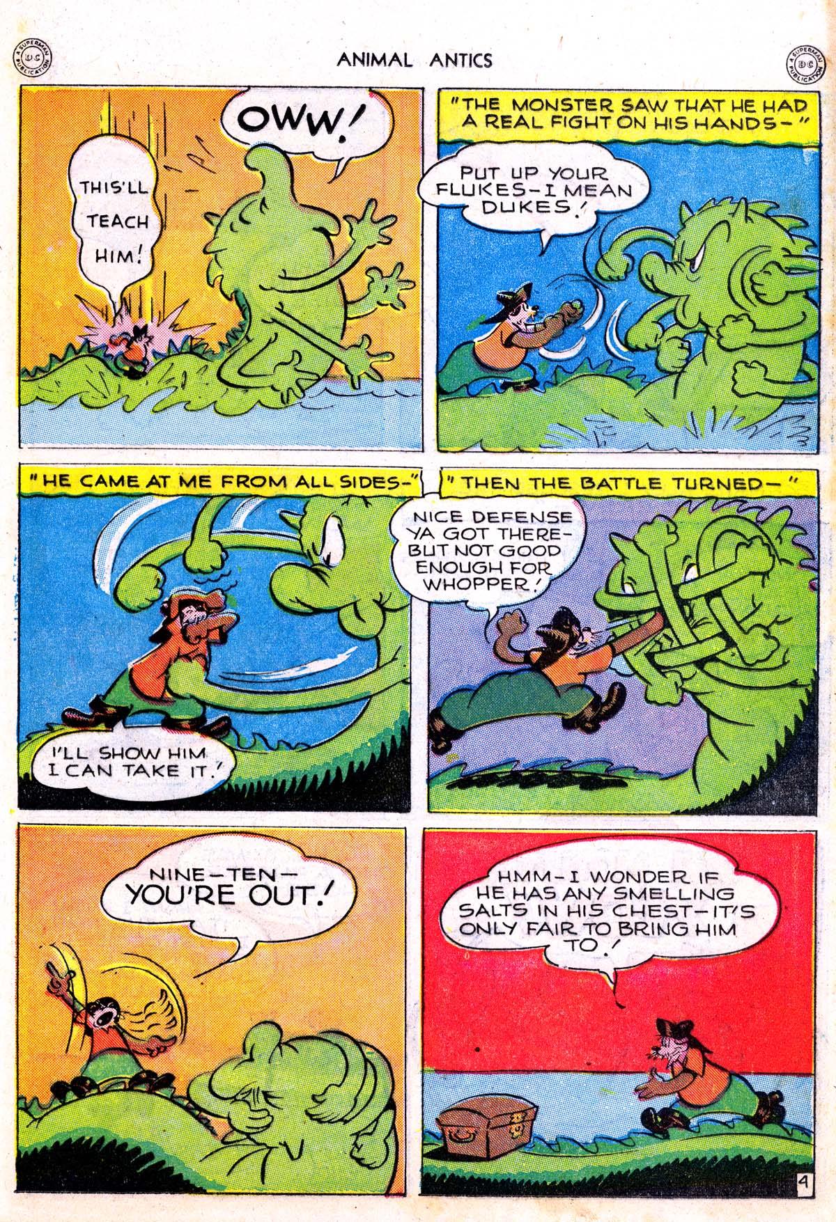 Read online Animal Antics comic -  Issue #5 - 25